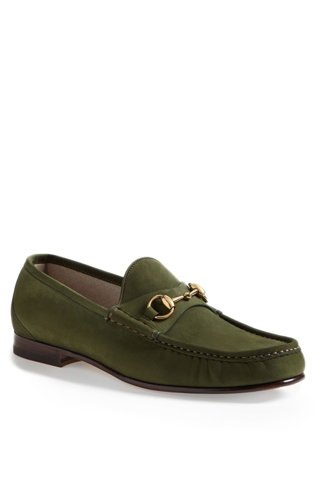 Main Image - Gucci 'Roos' Bit Loafer