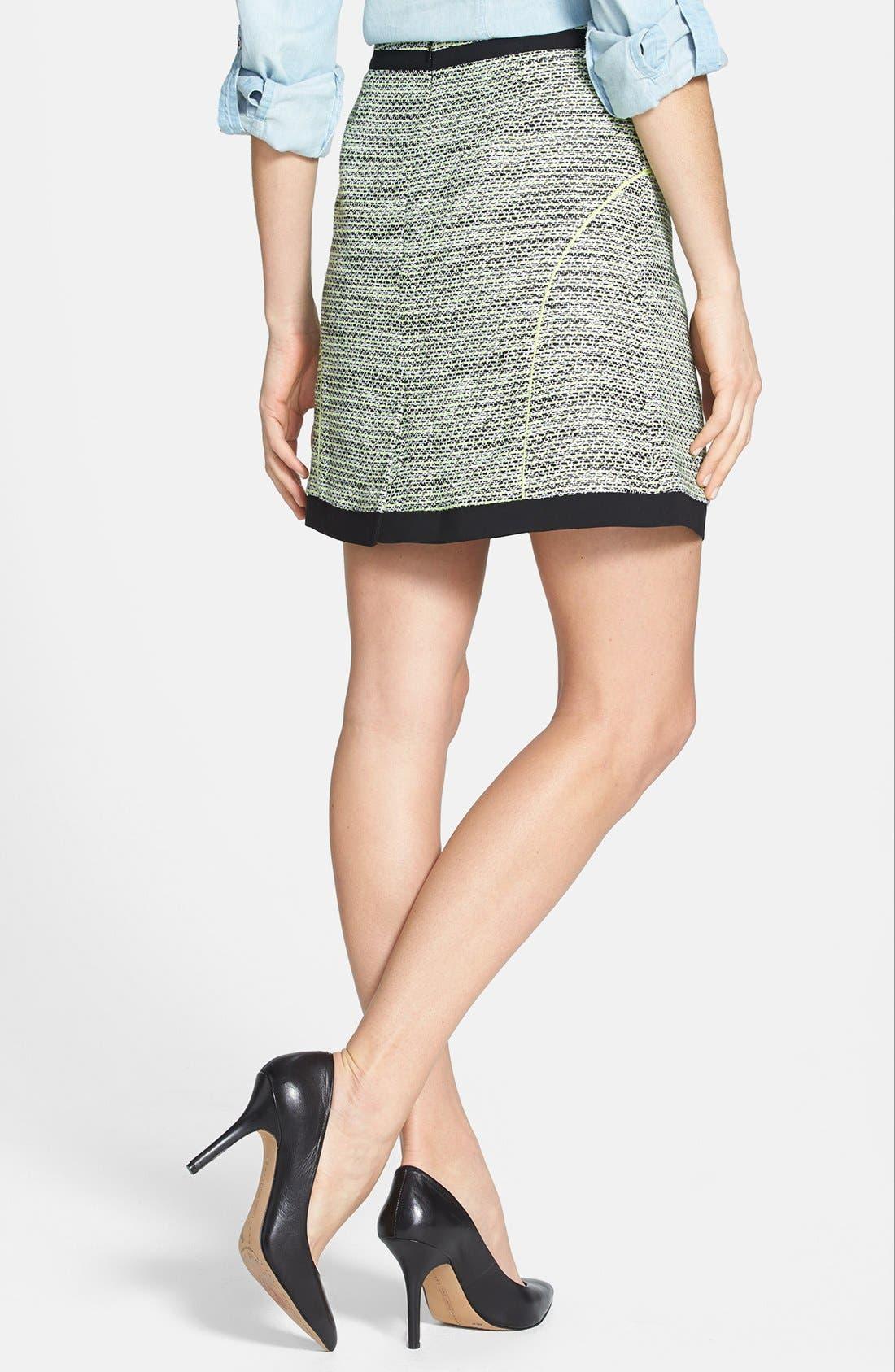 Alternate Image 2  - Halogen® 'Exotic Tweed' A-Line Skirt