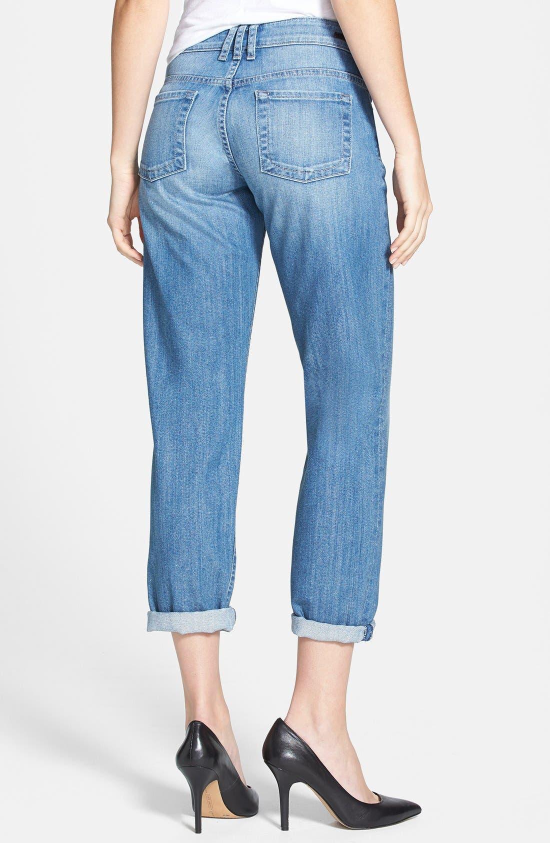 Alternate Image 2  - KUT from the Kloth 'Catherine' Slim Boyfriend Jeans (Exceptional) (Regular & Petite)