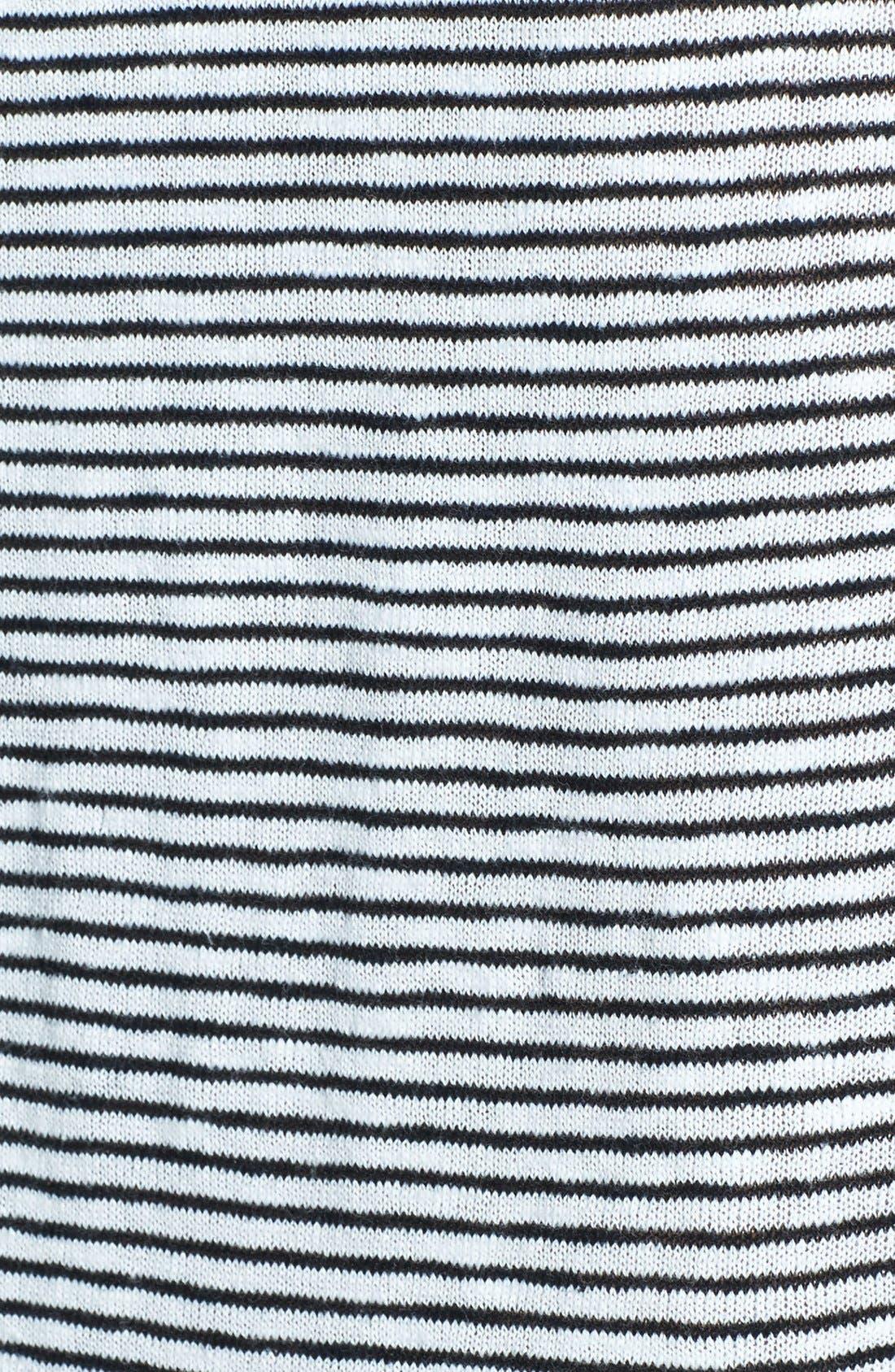 Alternate Image 2  - Eileen Fisher Boatneck Stripe Sweater