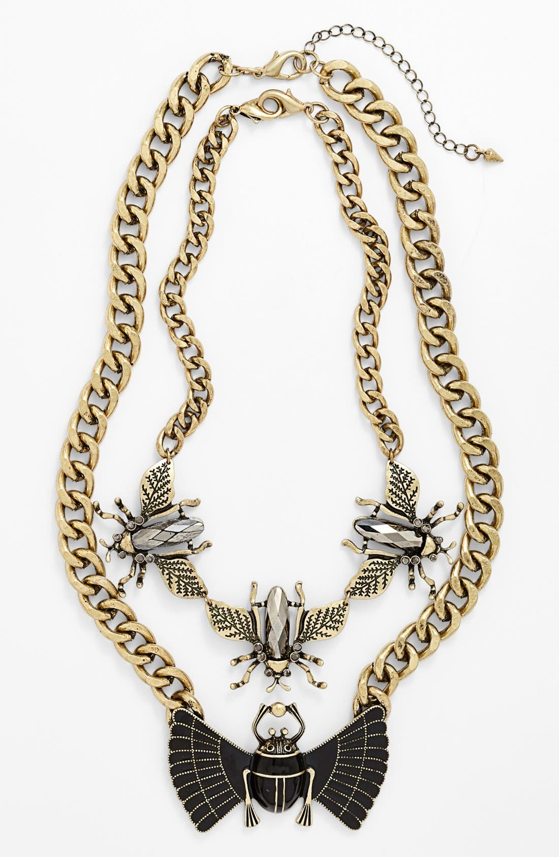 Main Image - Leith Insect 3-in-1 Statement Necklace