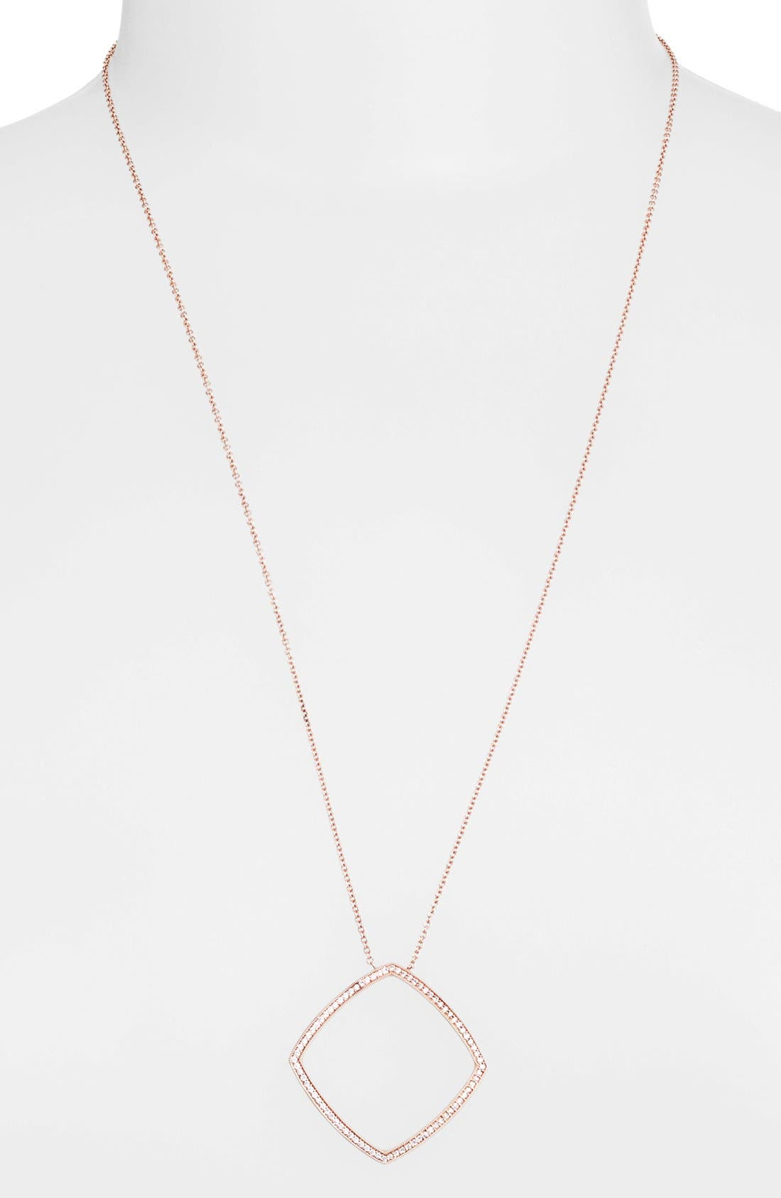 Alternate Image 1 Selected - Dana Rebecca Designs 'Alexa Jordyn' Diamond Pendant Necklace