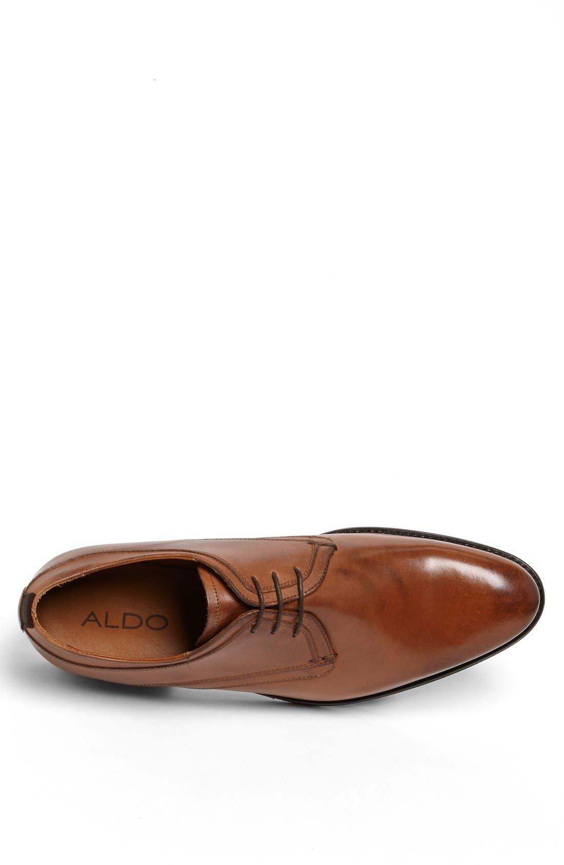 Alternate Image 3  - ALDO 'Tumma' Plain Toe Derby (Men)