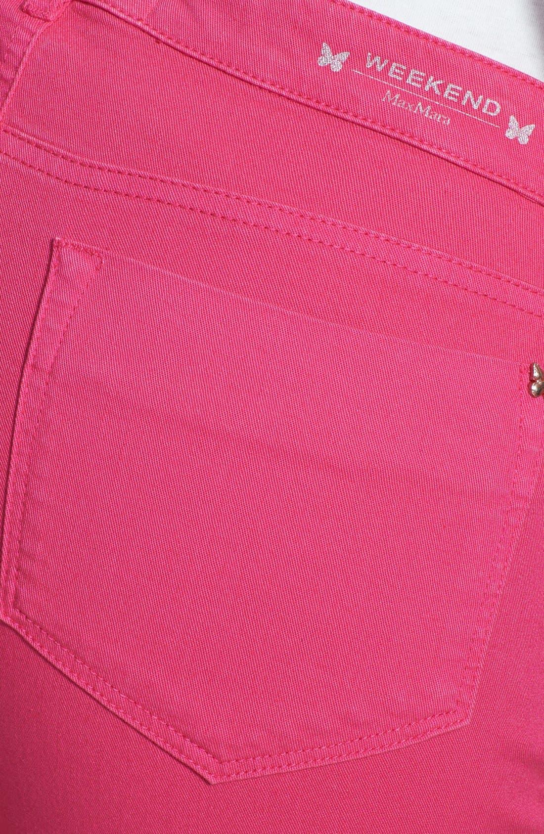 Alternate Image 3  - Weekend Max Mara 'Gitano' Stretch Cotton Pants