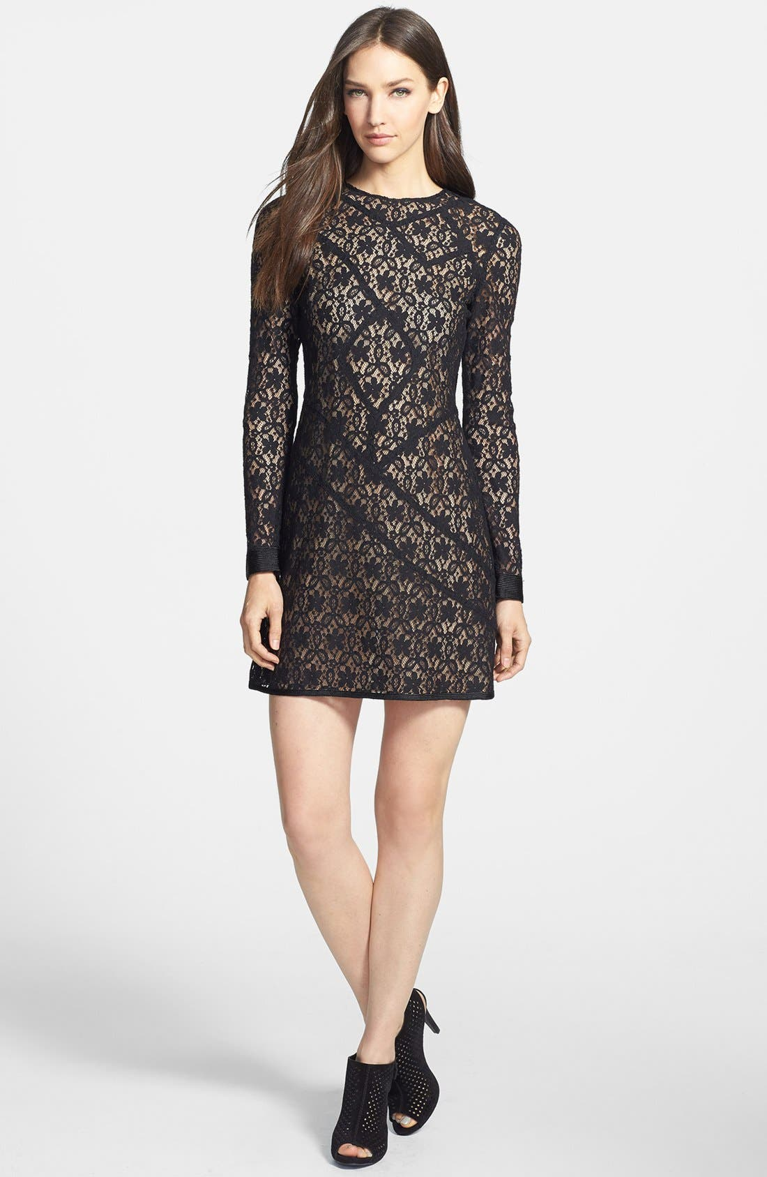 Alternate Image 1 Selected - MARC BY MARC JACOBS 'Leila' Lace A-Line Dress