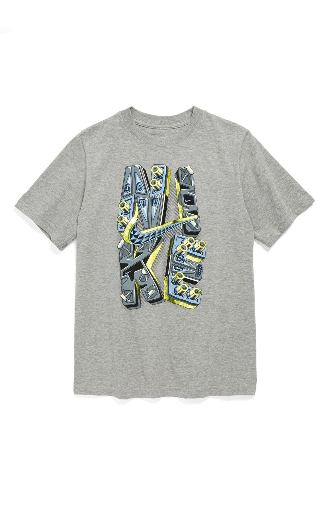 Alternate Image 1 Selected - Nike 'Soles' Cotton Blend T-Shirt (Big Boys)