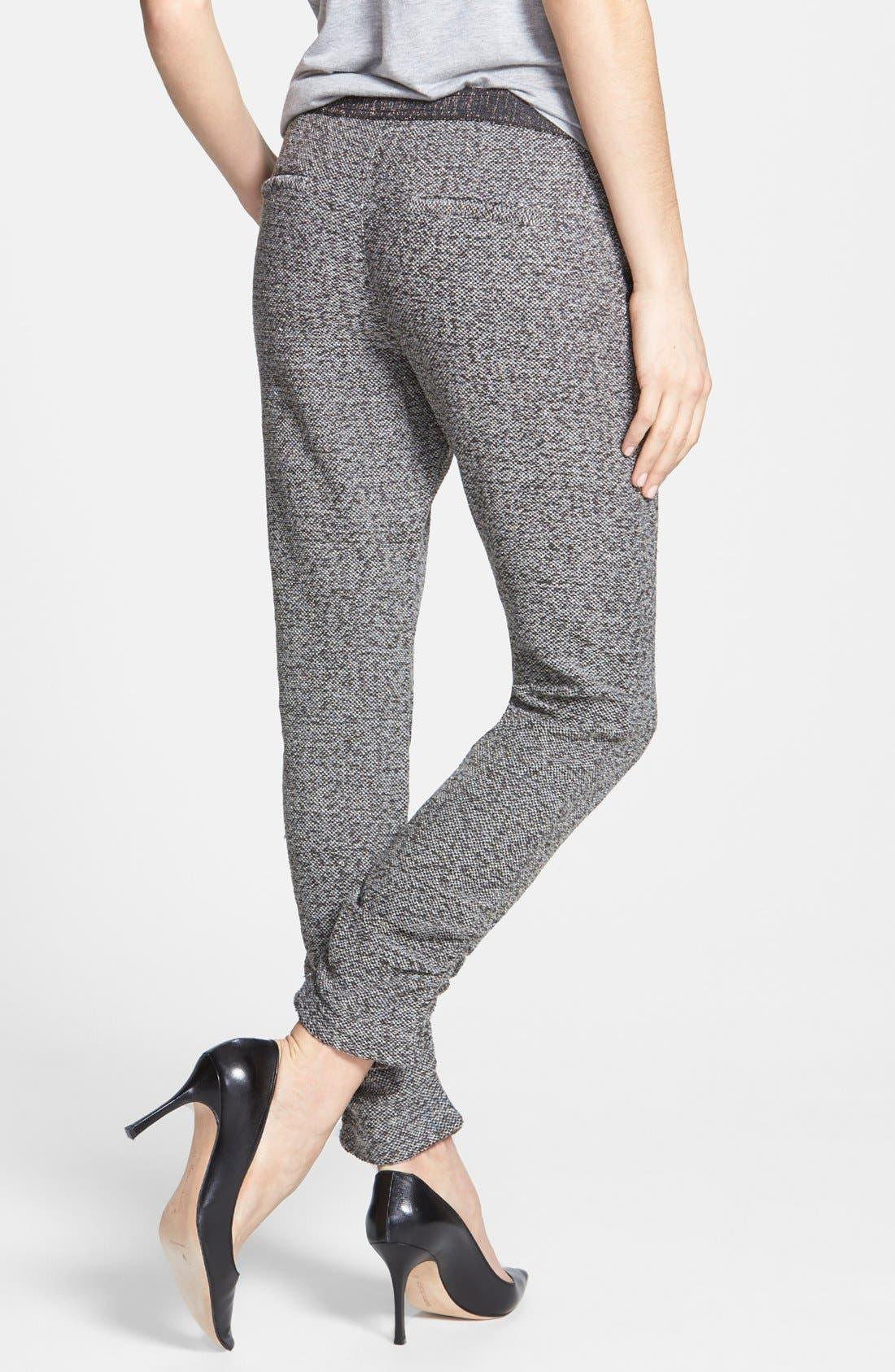 Alternate Image 2  - Free People 'Milo' Metallic Pants