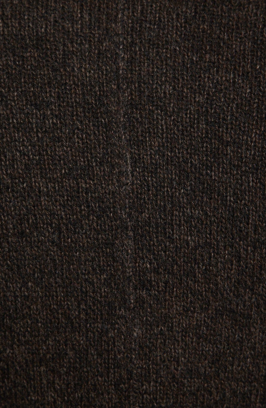 Alternate Image 3  - John Varvatos Star USA Raw Edge Sweater Peacoat