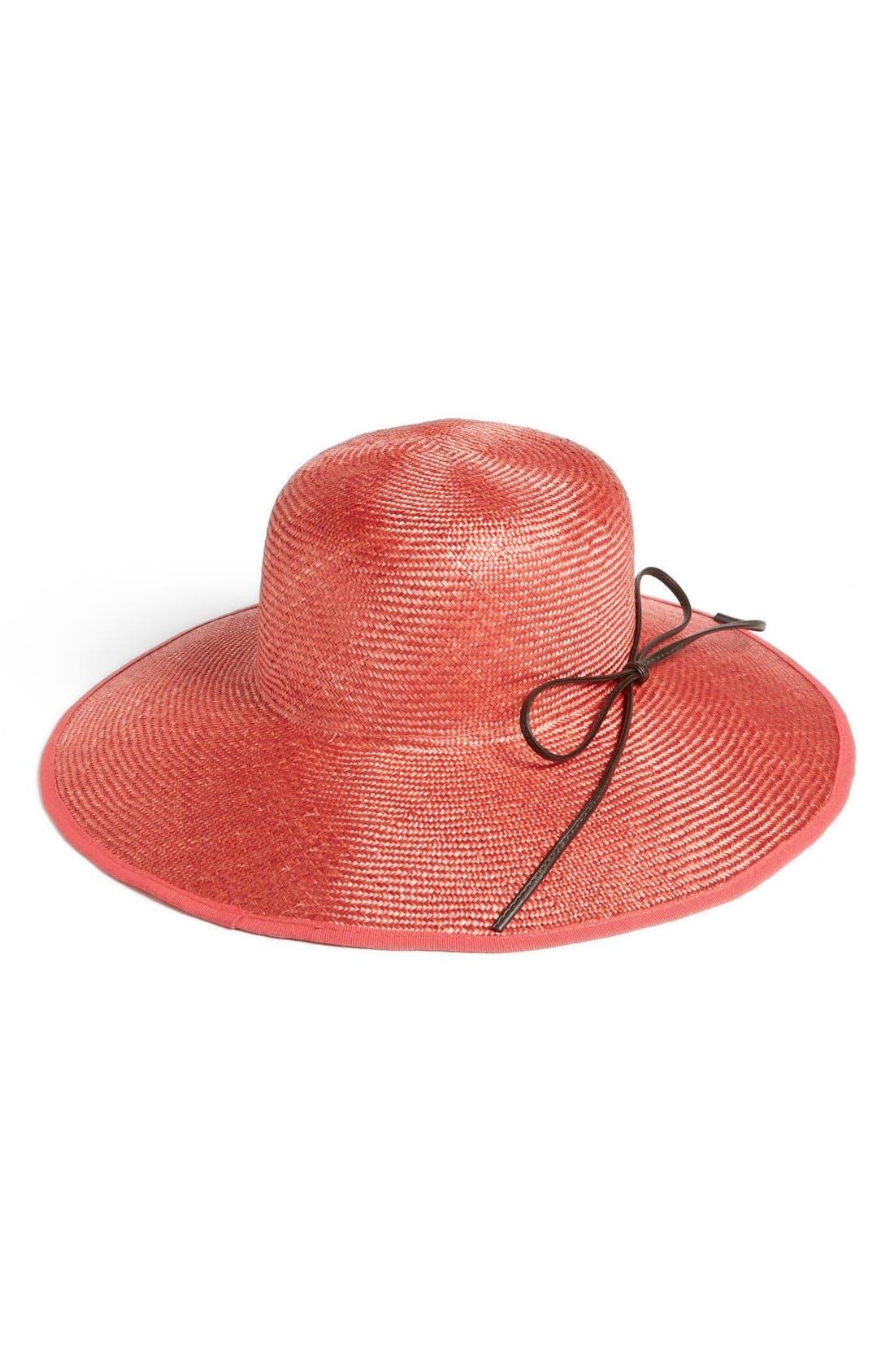 Alternate Image 1 Selected - Nordstrom Packable Straw Hat