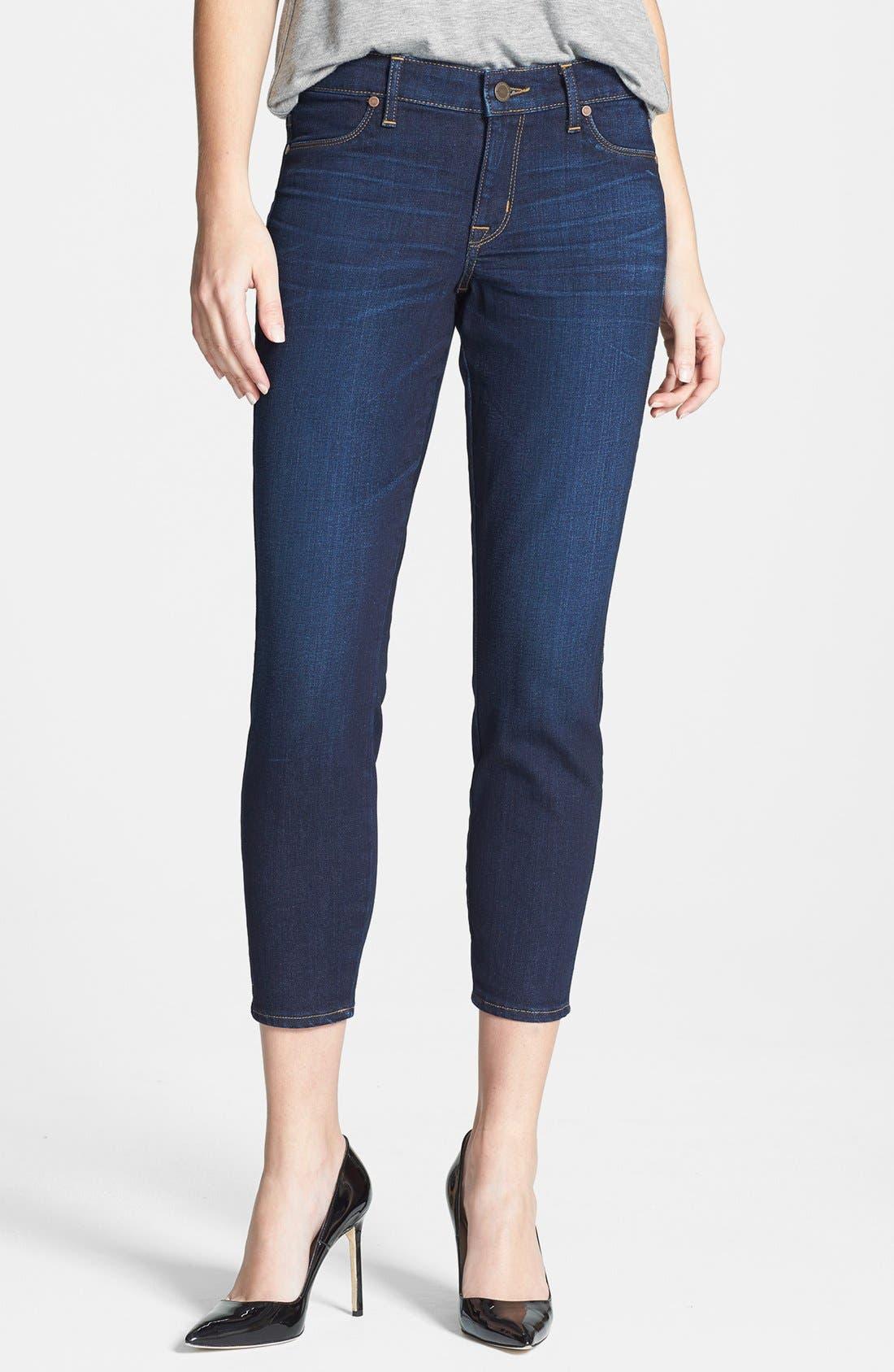 Main Image - CJ by Cookie Johnson 'Believe' Crop Stretch Denim Skinny Jeans (Jeames)