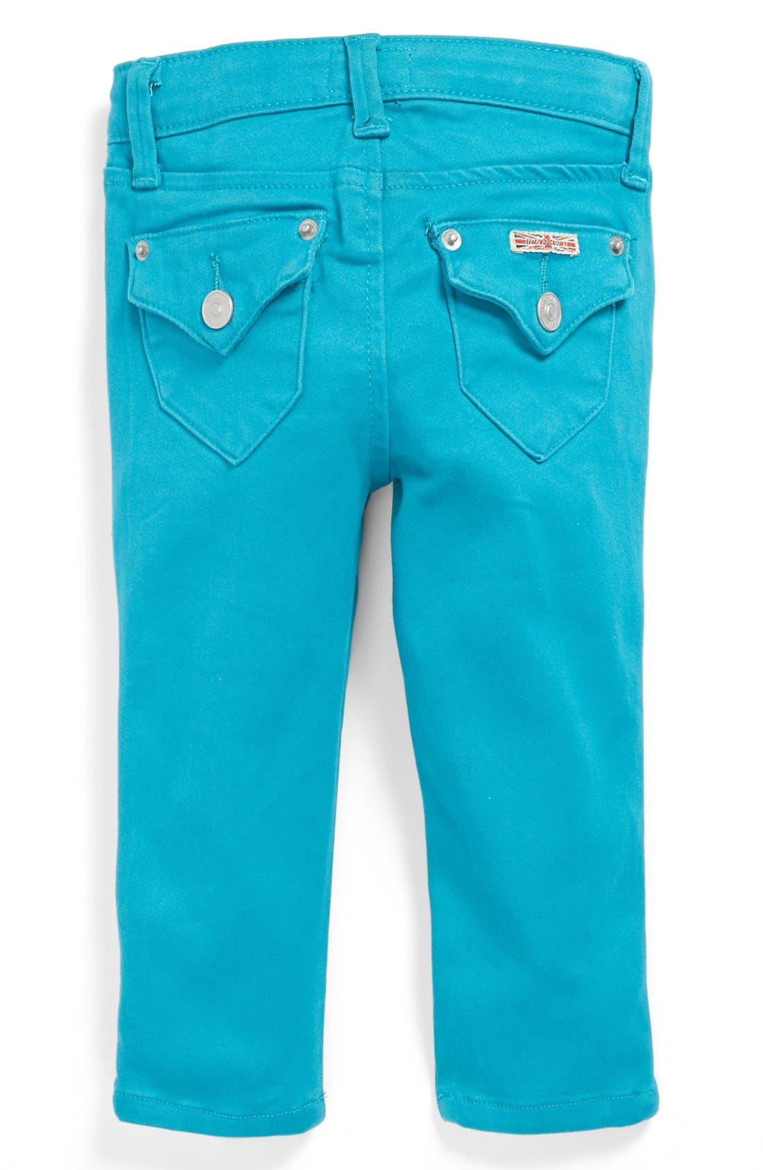 Alternate Image 1 Selected - Hudson Kids 'Collin' Skinny Jeans (Baby Girls)