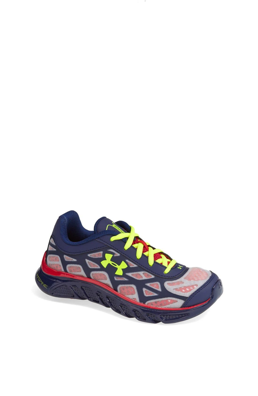 Alternate Image 1 Selected - Under Armour 'Spine™ - Vice Super Hero' Athletic Shoe (Toddler & Little Kid)