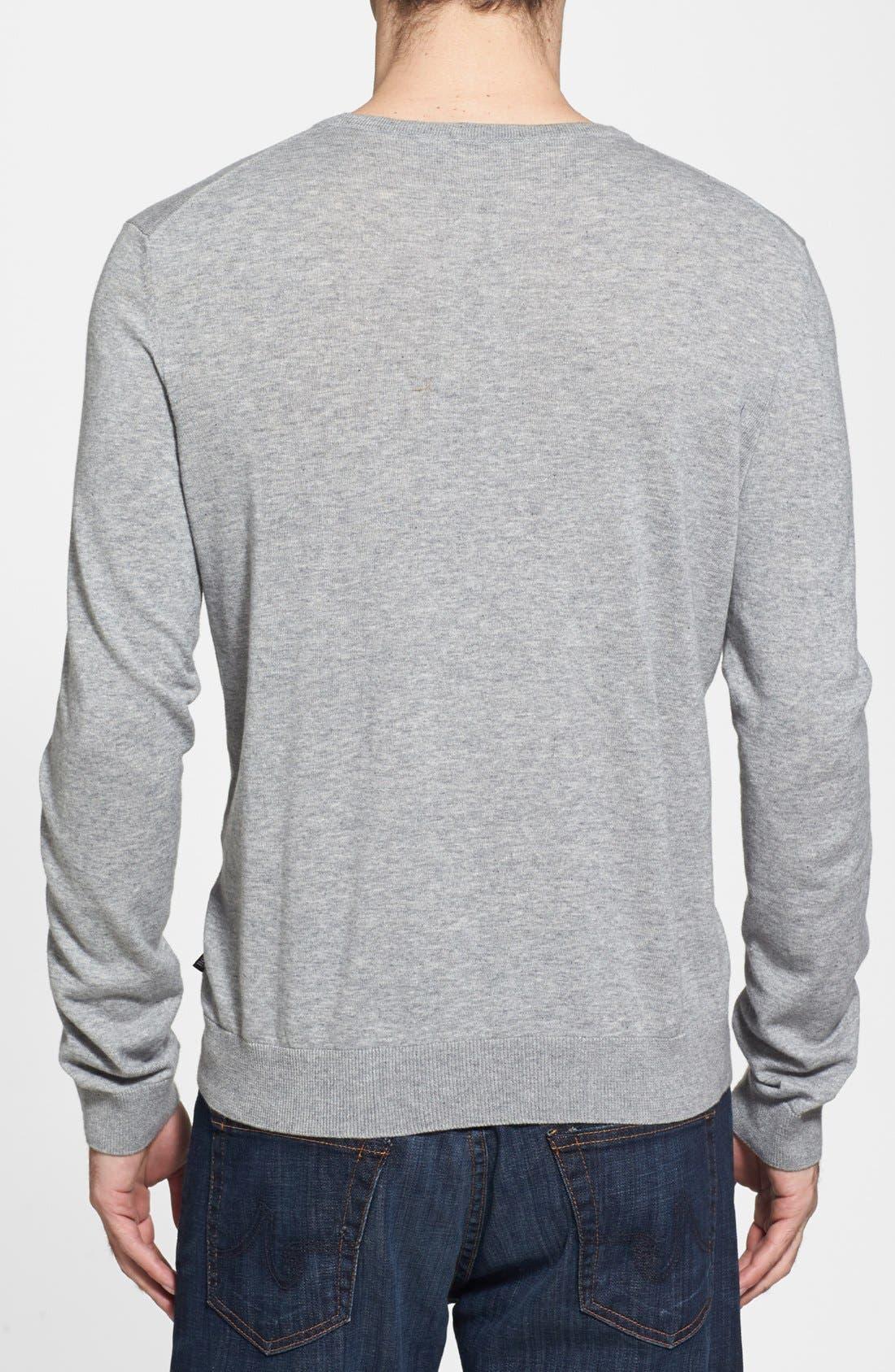 Alternate Image 2  - BOSS HUGO BOSS 'Perinus' Crewneck Sweater