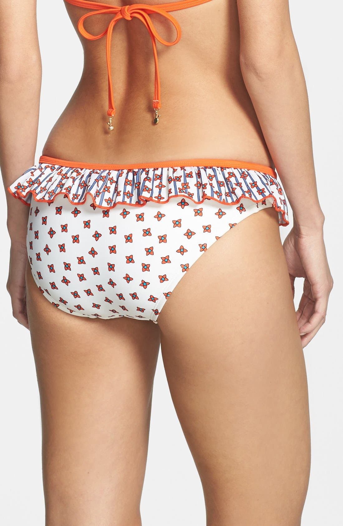 Alternate Image 2  - MARC BY MARC JACOBS 'Chrissie's Floral' Ruffle Bikini Bottoms