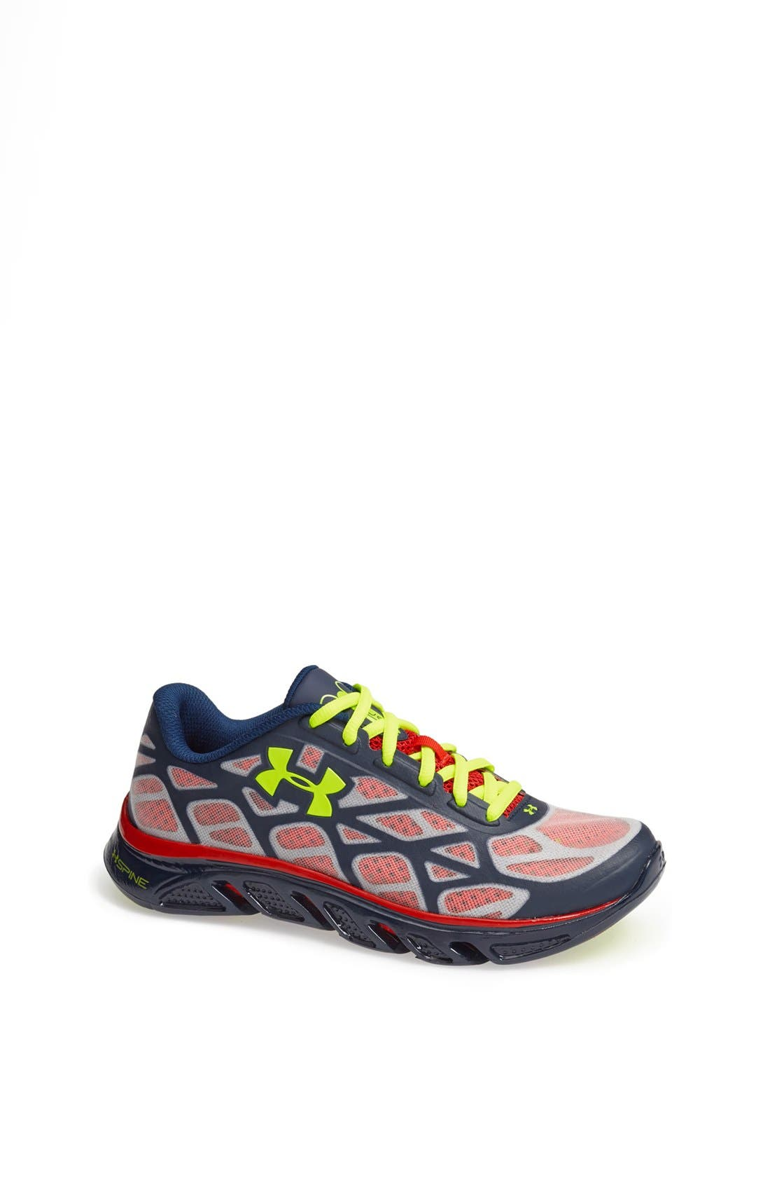 Alternate Image 1 Selected - Under Armour 'Spine™ - Vice Super Hero' Athletic Shoe (Big Kid)