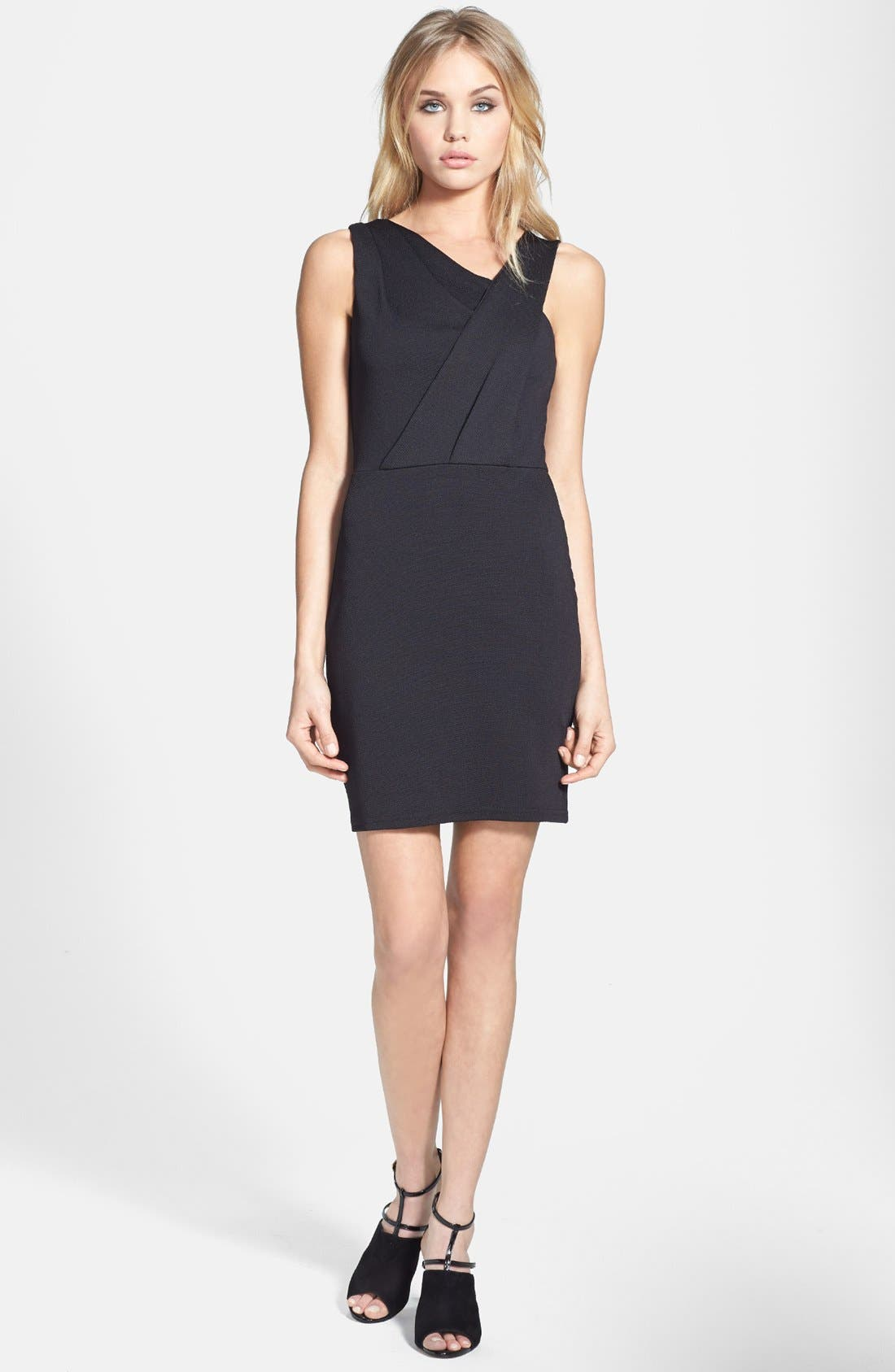 Alternate Image 1 Selected - Topshop Pleated Bodice Dress
