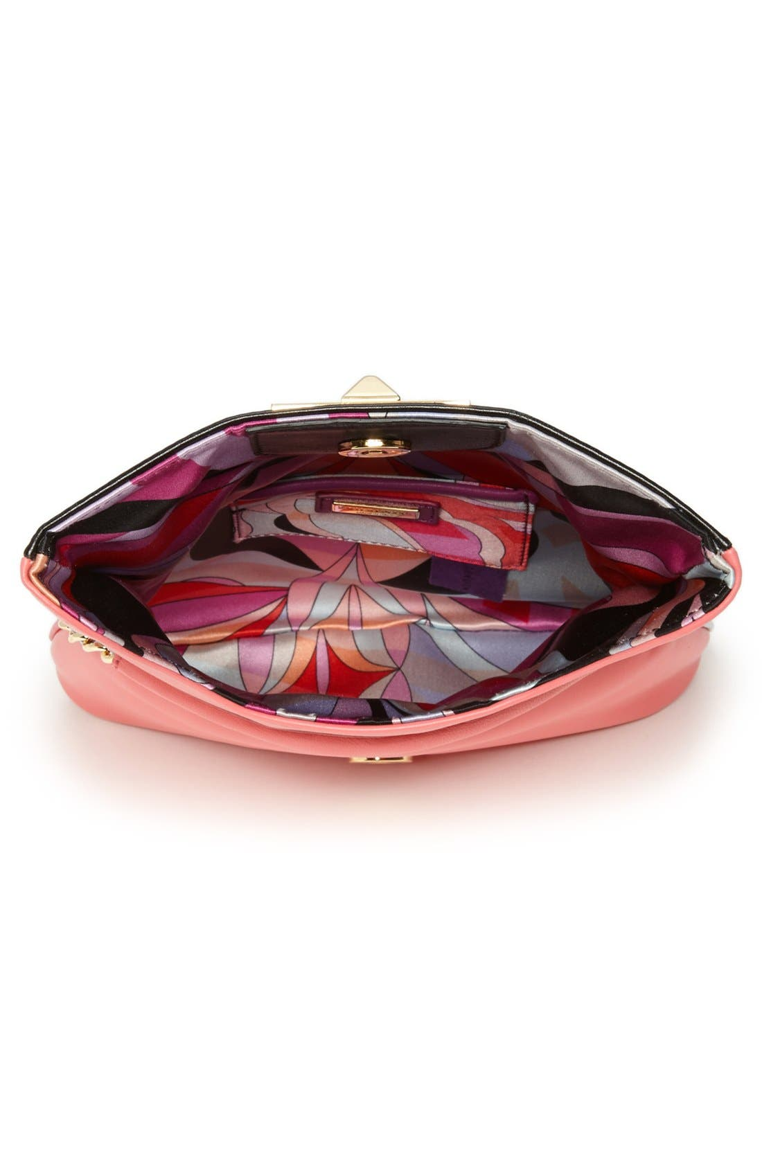 Alternate Image 3  - Emilio Pucci 'Mini' Colorblock Lambskin Leather Crossbody Bag
