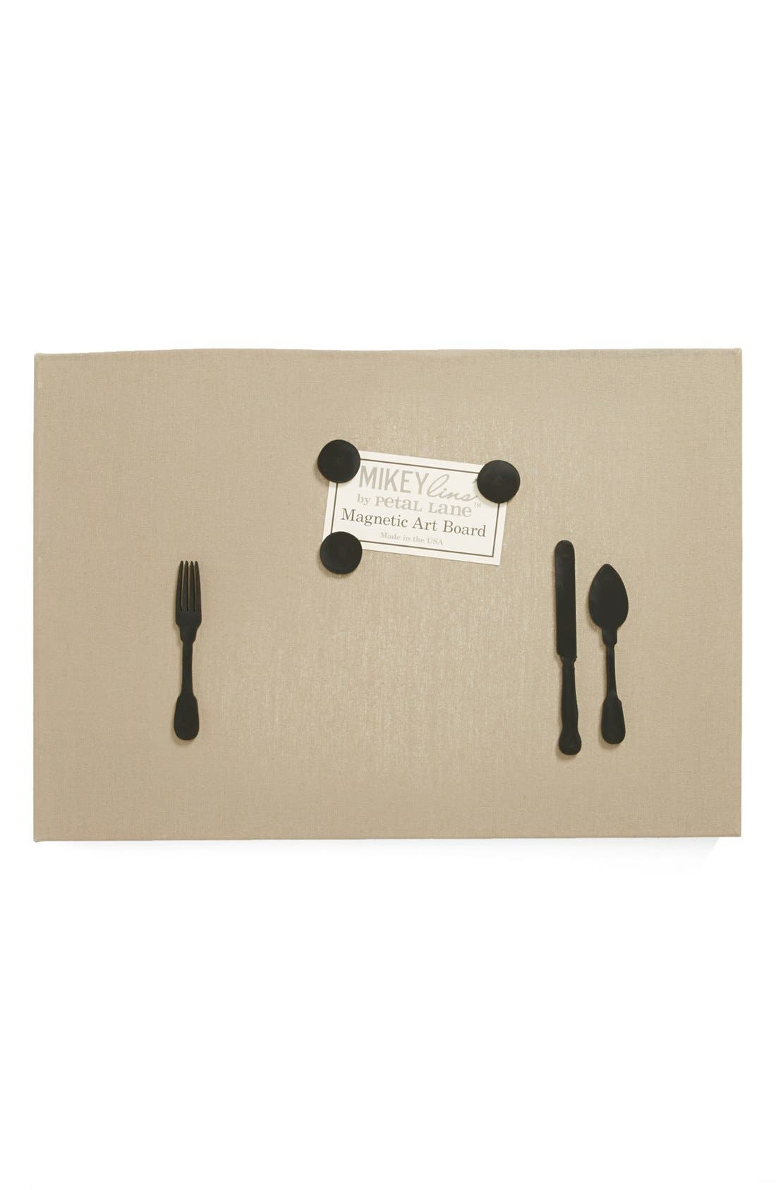 Main Image - Petal Lane 'Silverware' Magnet Board, Medium