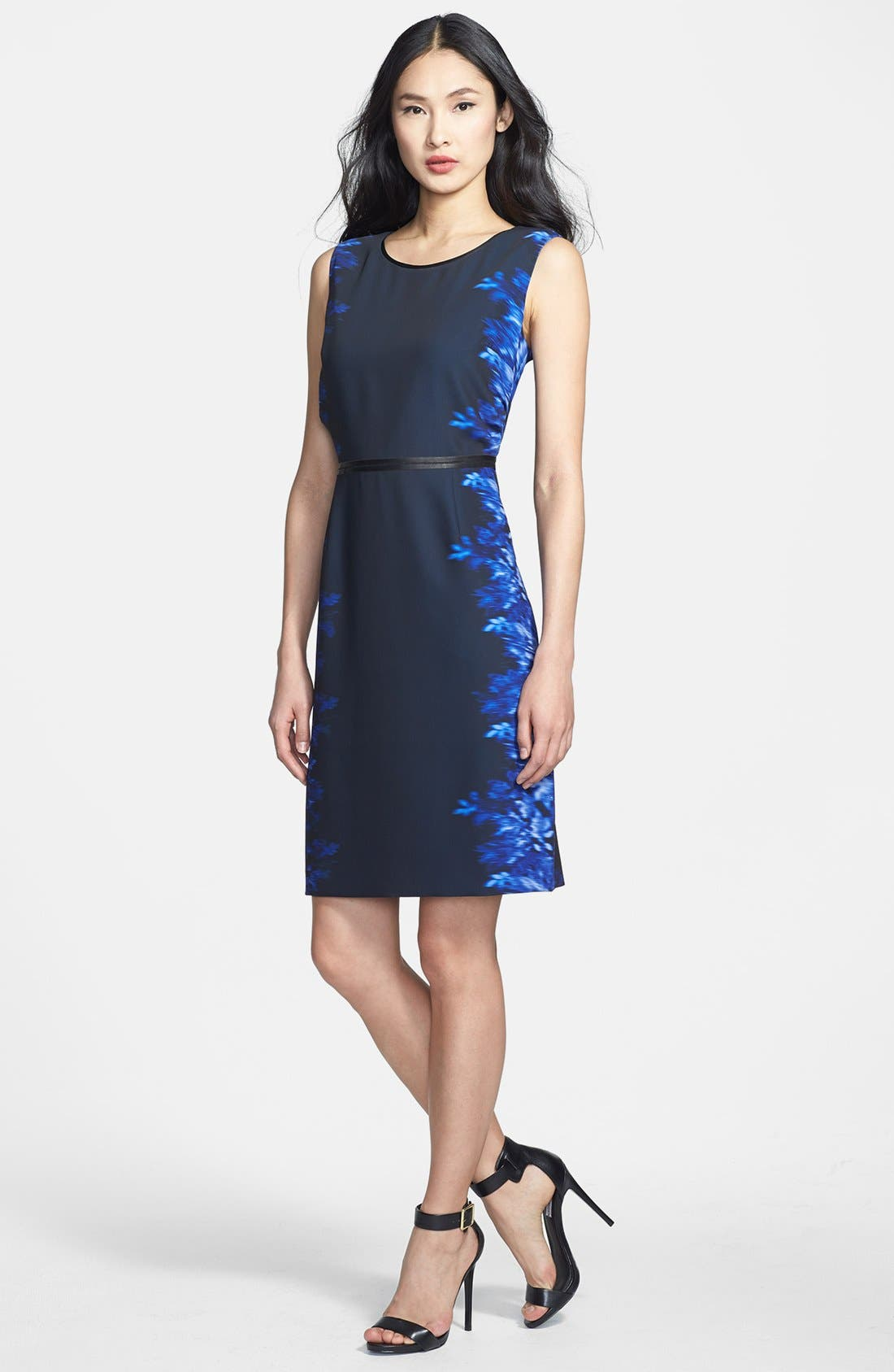 Alternate Image 1 Selected - Elie Tahari 'Beverly' Silk Dress