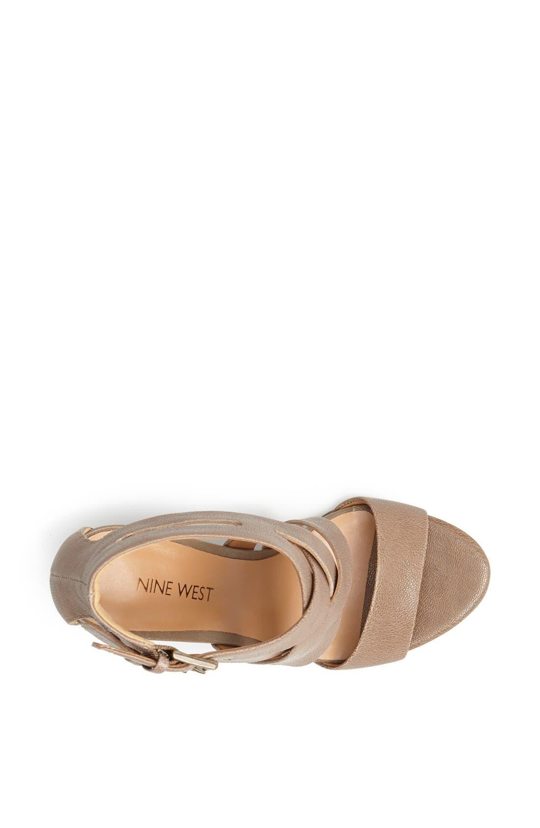 Alternate Image 3  - Nine West 'Maureen' Wedge Sandal