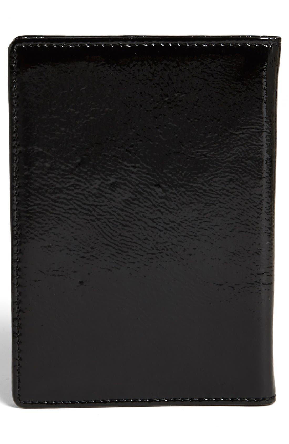 Alternate Image 3  - Halogen® 'Trust Fund Traveler' Patent Leather Passport Cover