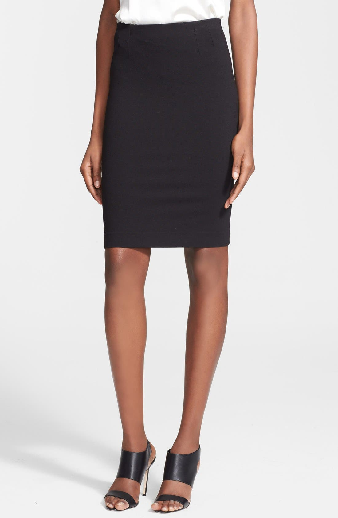 Main Image - M Missoni Ponte Knit Pencil Skirt