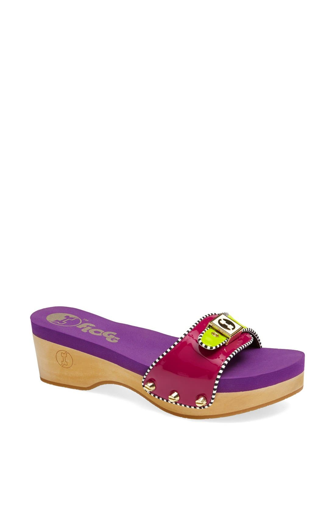 Alternate Image 1 Selected - Flogg 'Milana' Patent Slide Sandal