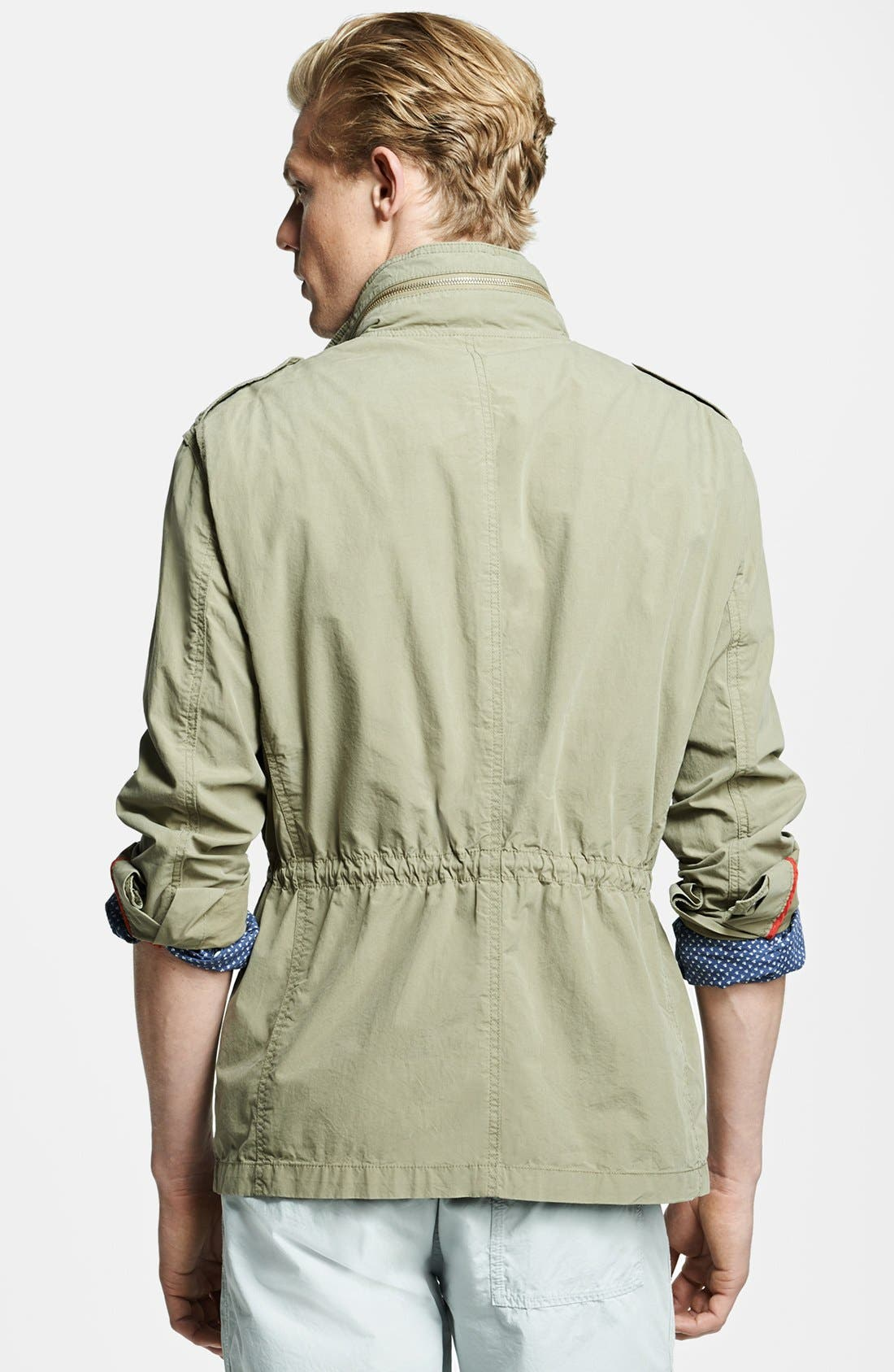 Alternate Image 2  - Michael Bastian Lightweight Military Jacket