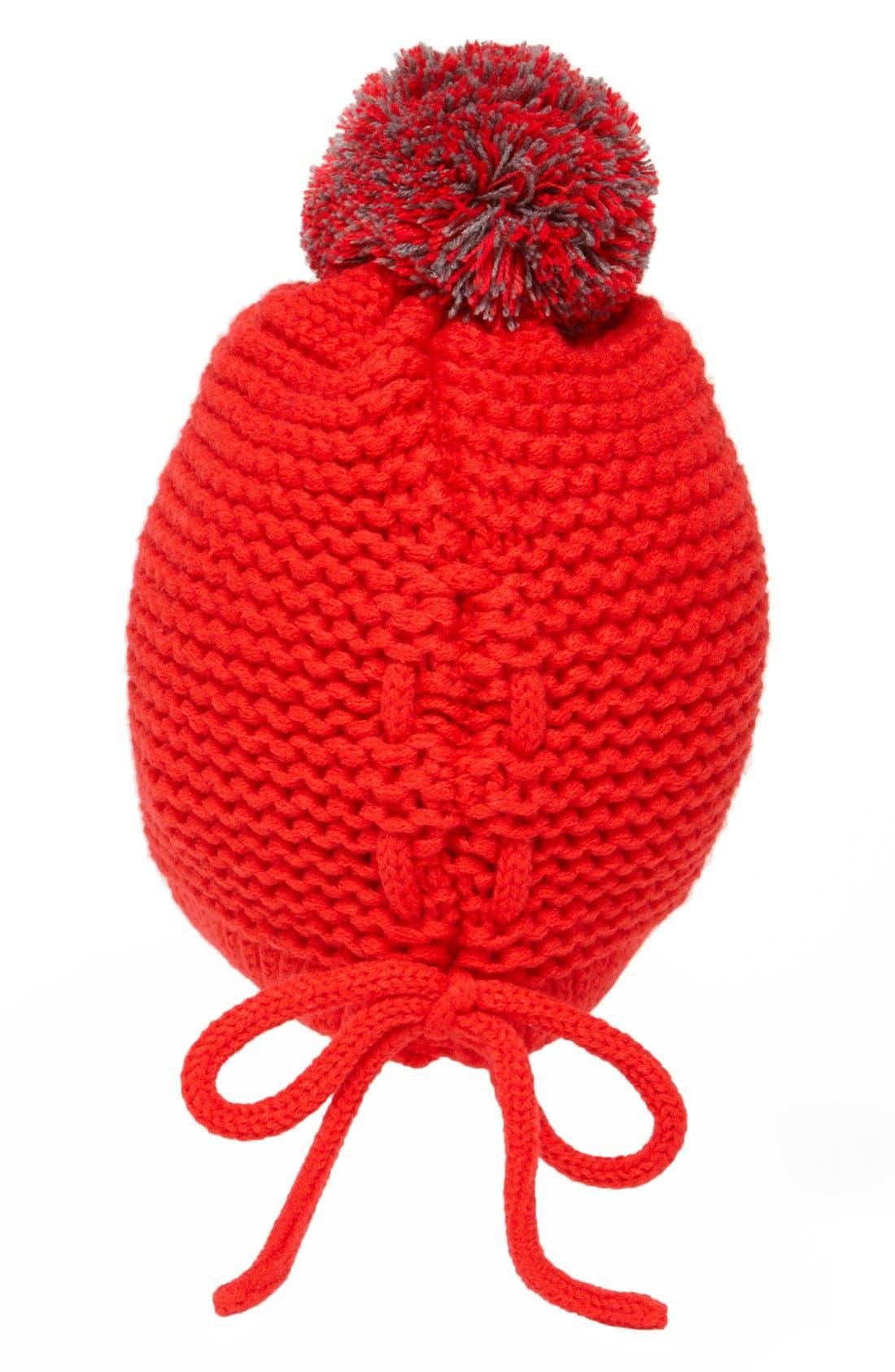 Alternate Image 2  - Tildon Laced Back Pompom Hat
