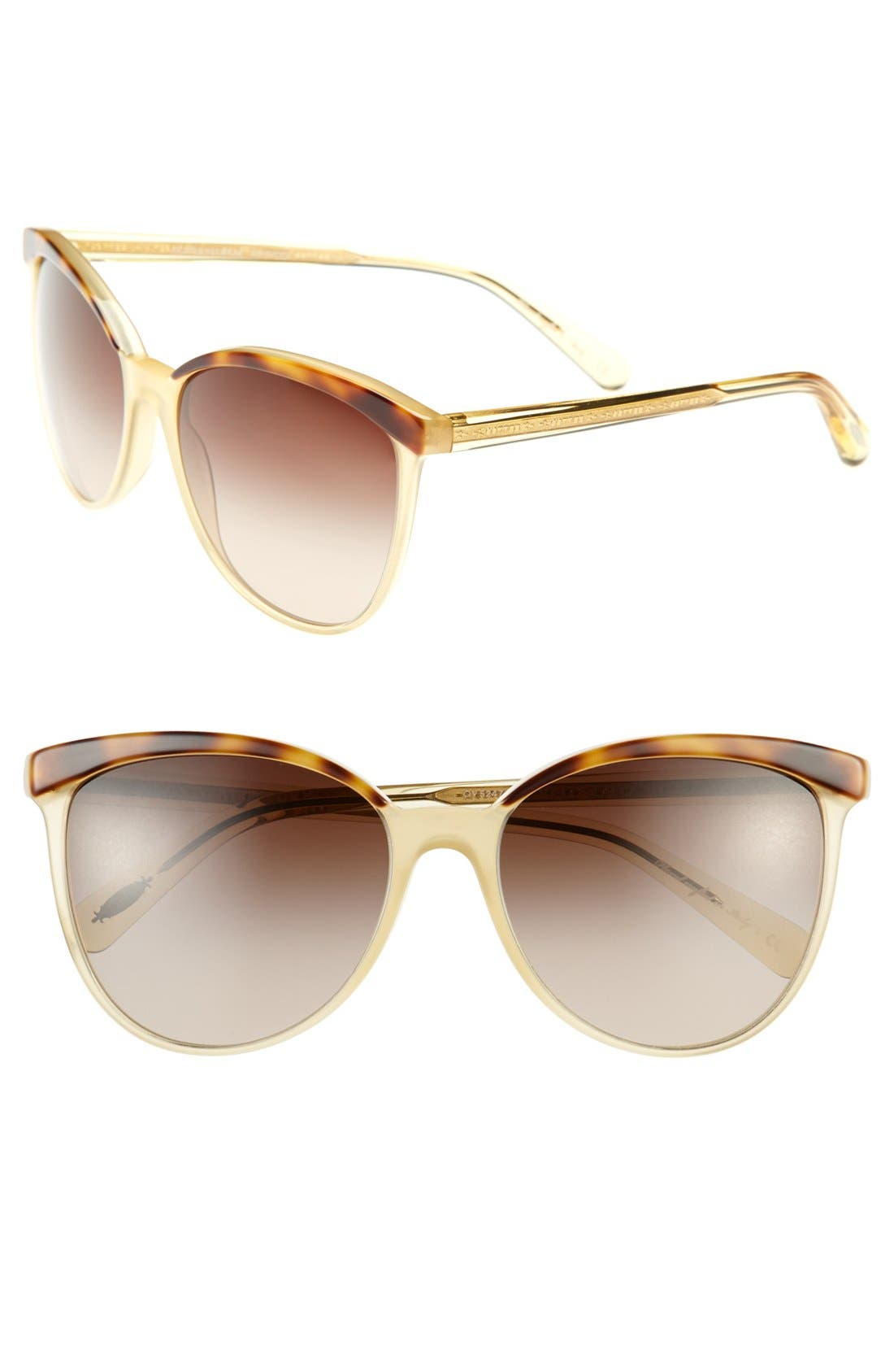Alternate Image 1 Selected - Oliver Peoples 'Ria' 58mm Sunglasses