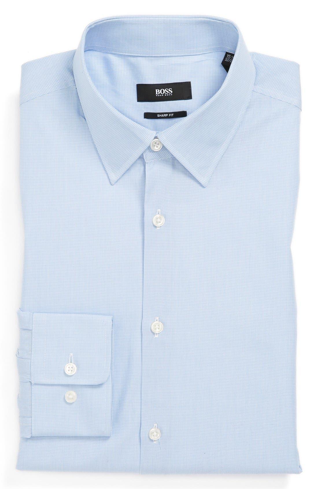 Main Image - BOSS 'Marlow' Sharp Fit Dress Shirt