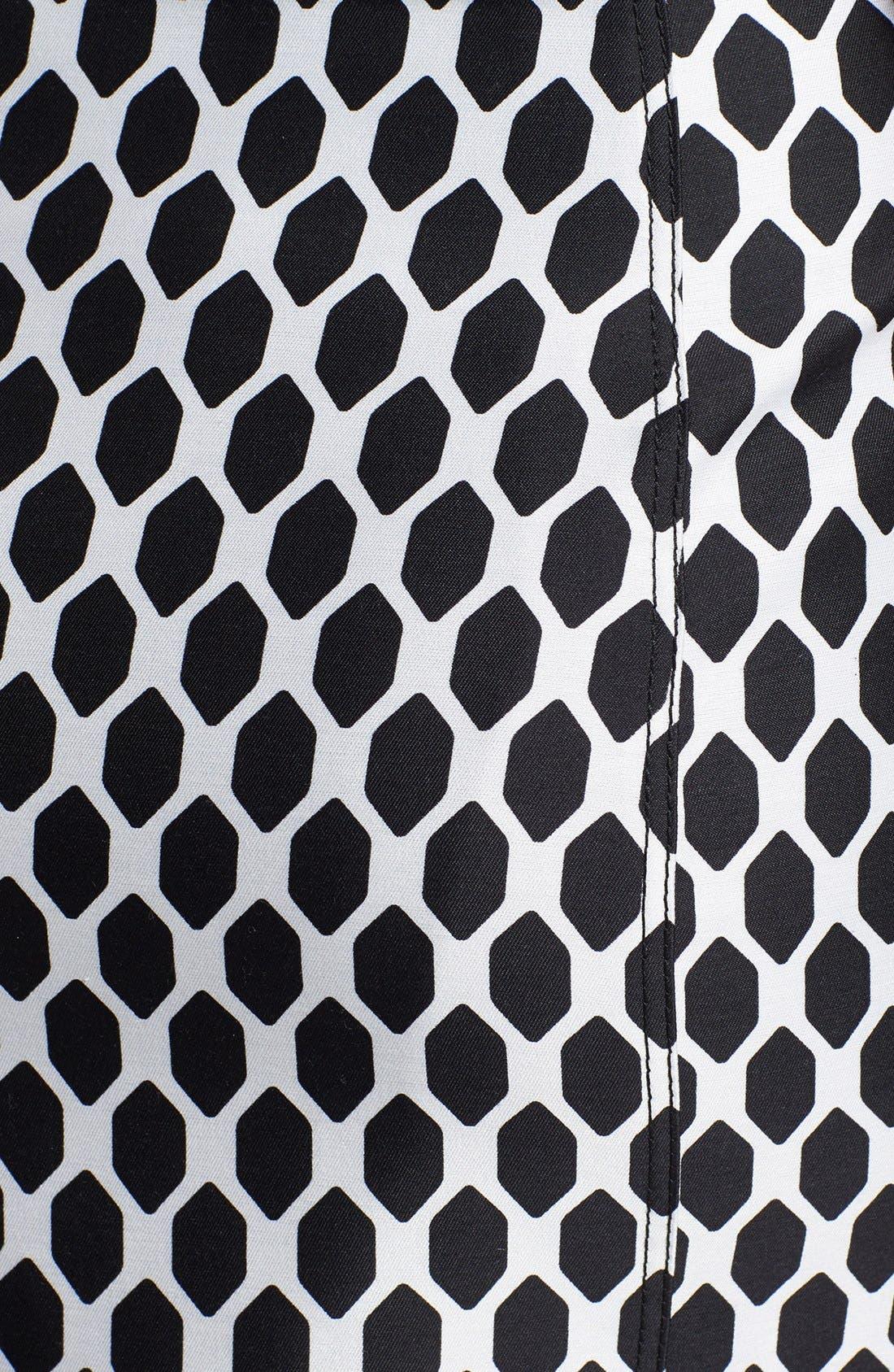 Alternate Image 4  - Diane von Furstenberg 'Adida' Wool & Silk Sheath Dress