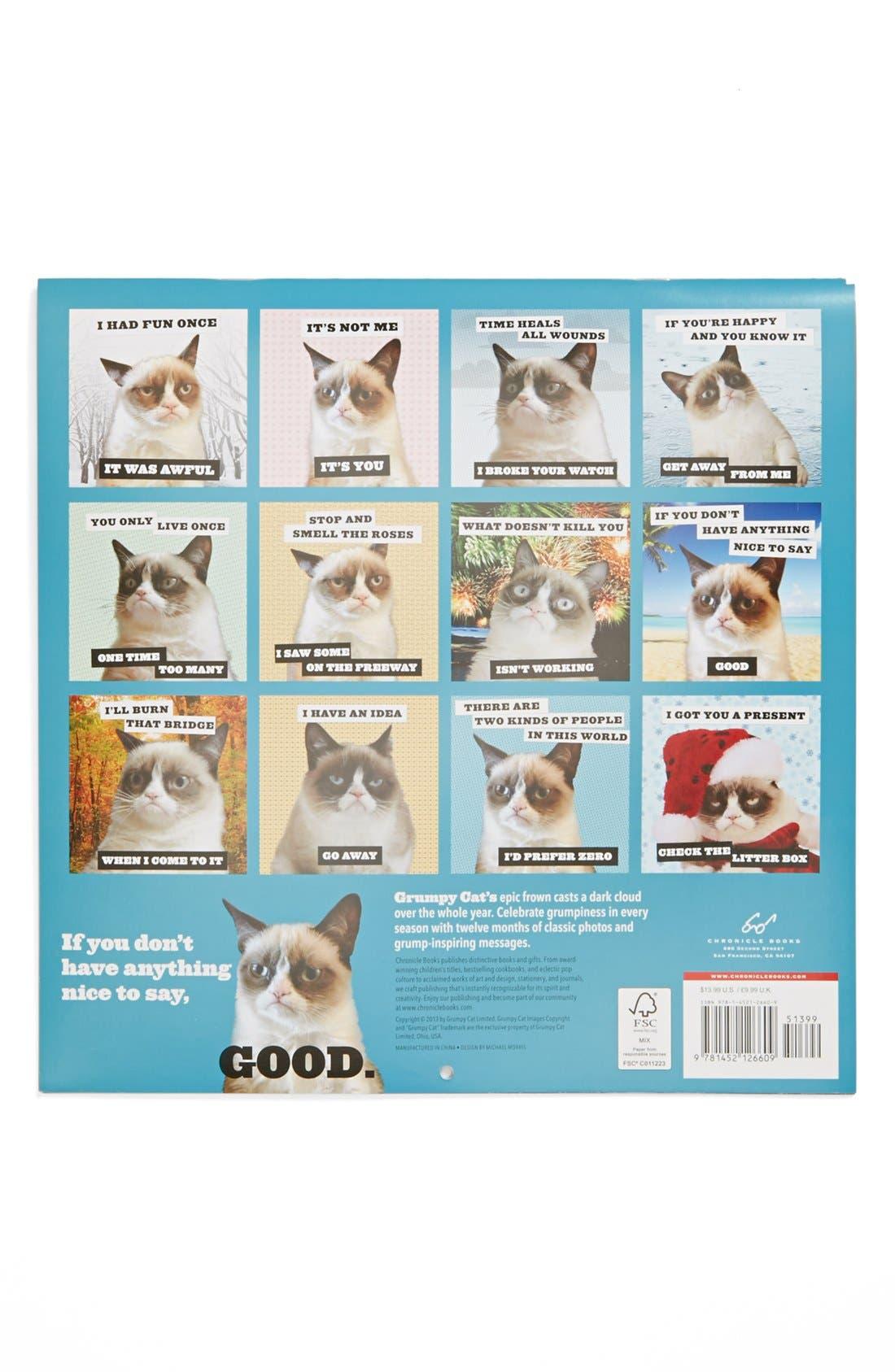 Alternate Image 2  - Grumpy Cat 2014 Wall Calendar