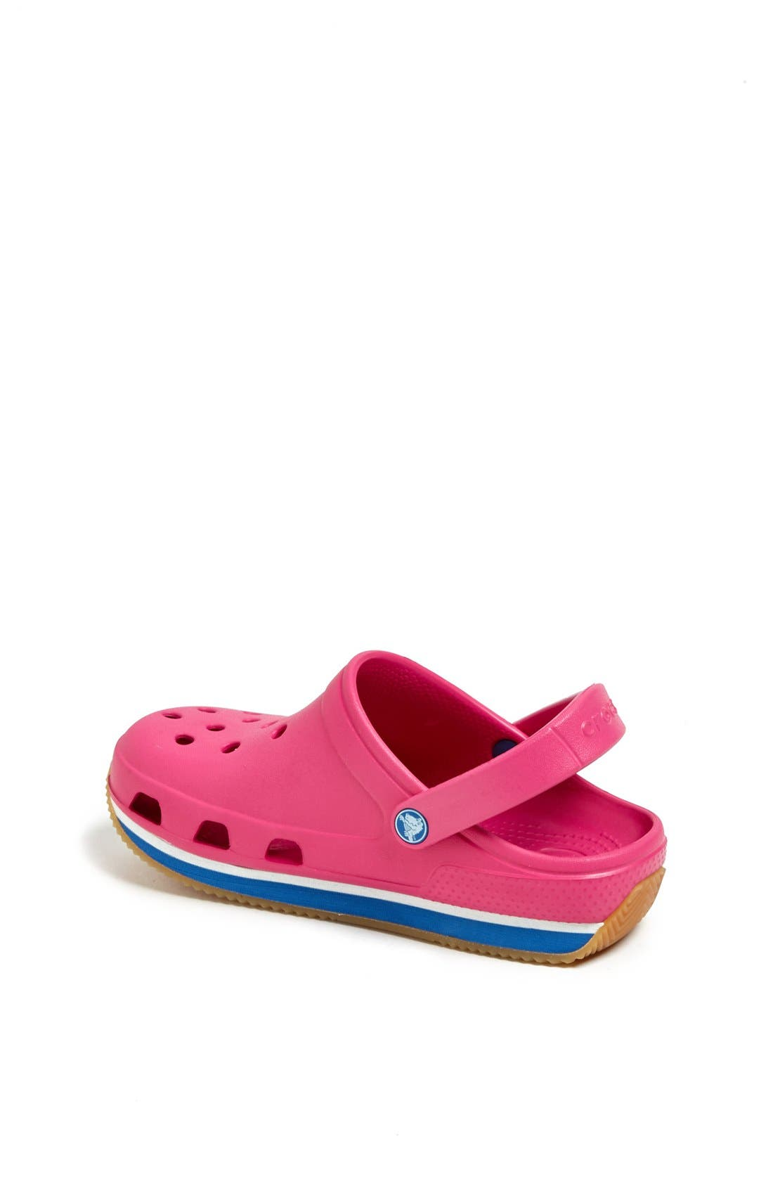 Alternate Image 2  - CROCS™ 'Retro Clog' Slip-On (Walker, Toddler & Little Kid)
