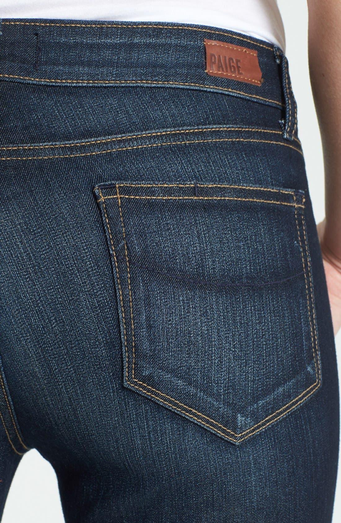 Alternate Image 3  - Paige Denim 'Verdugo' Skinny Ankle Jeans (Moonrise)