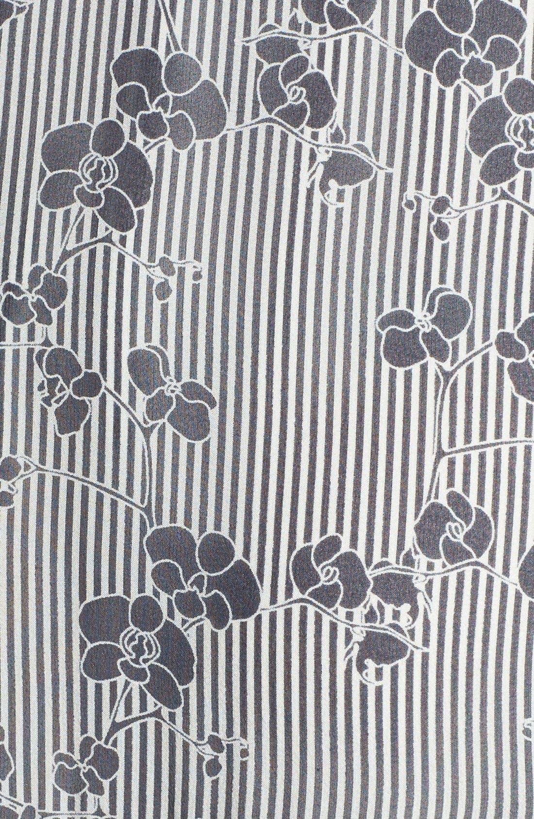 Alternate Image 3  - Diane von Furstenberg 'Heidi' Print Silk A-Line Dress