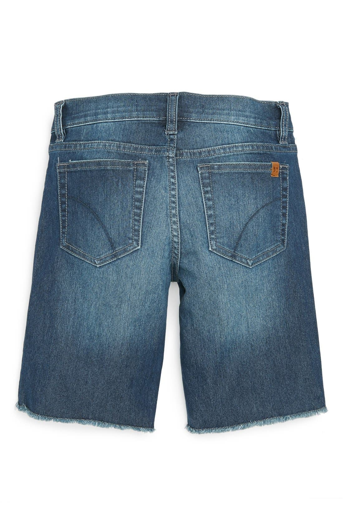 Alternate Image 1 Selected - Joe's Frayed Bermuda Shorts (Big Girls)