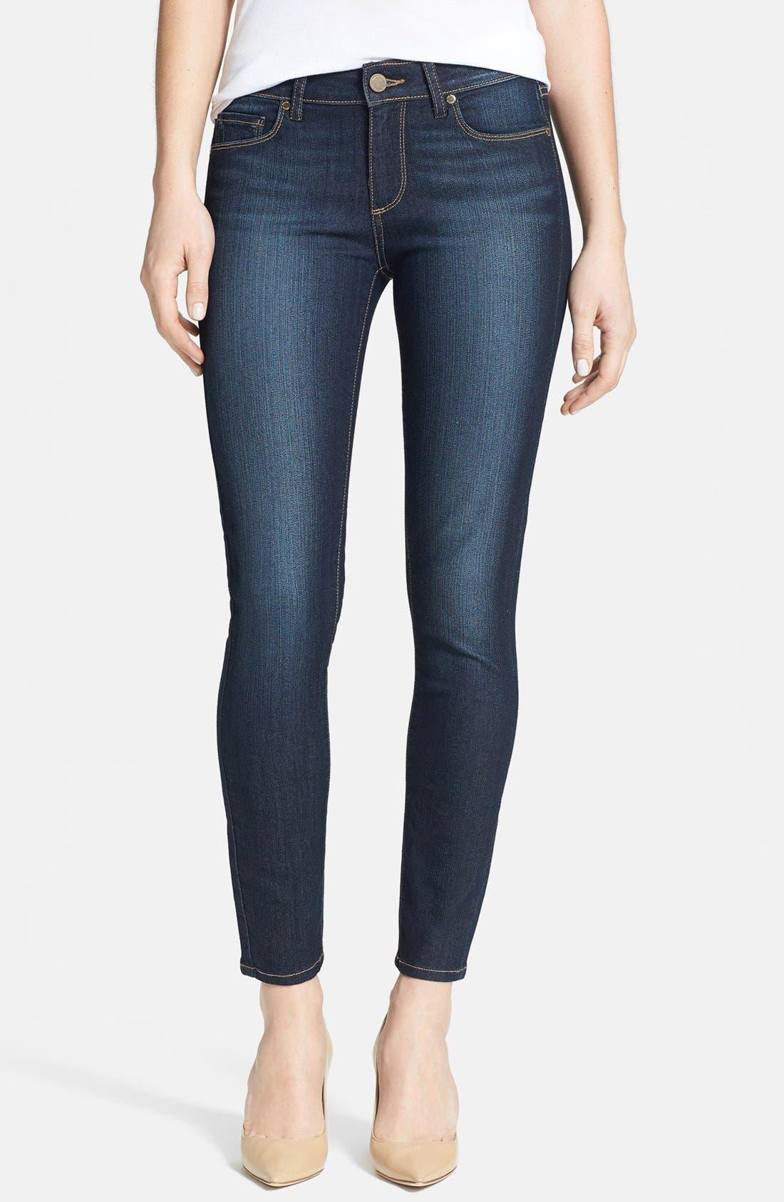 Alternate Image 1 Selected - Paige Denim 'Verdugo' Skinny Ankle Jeans (Moonrise)