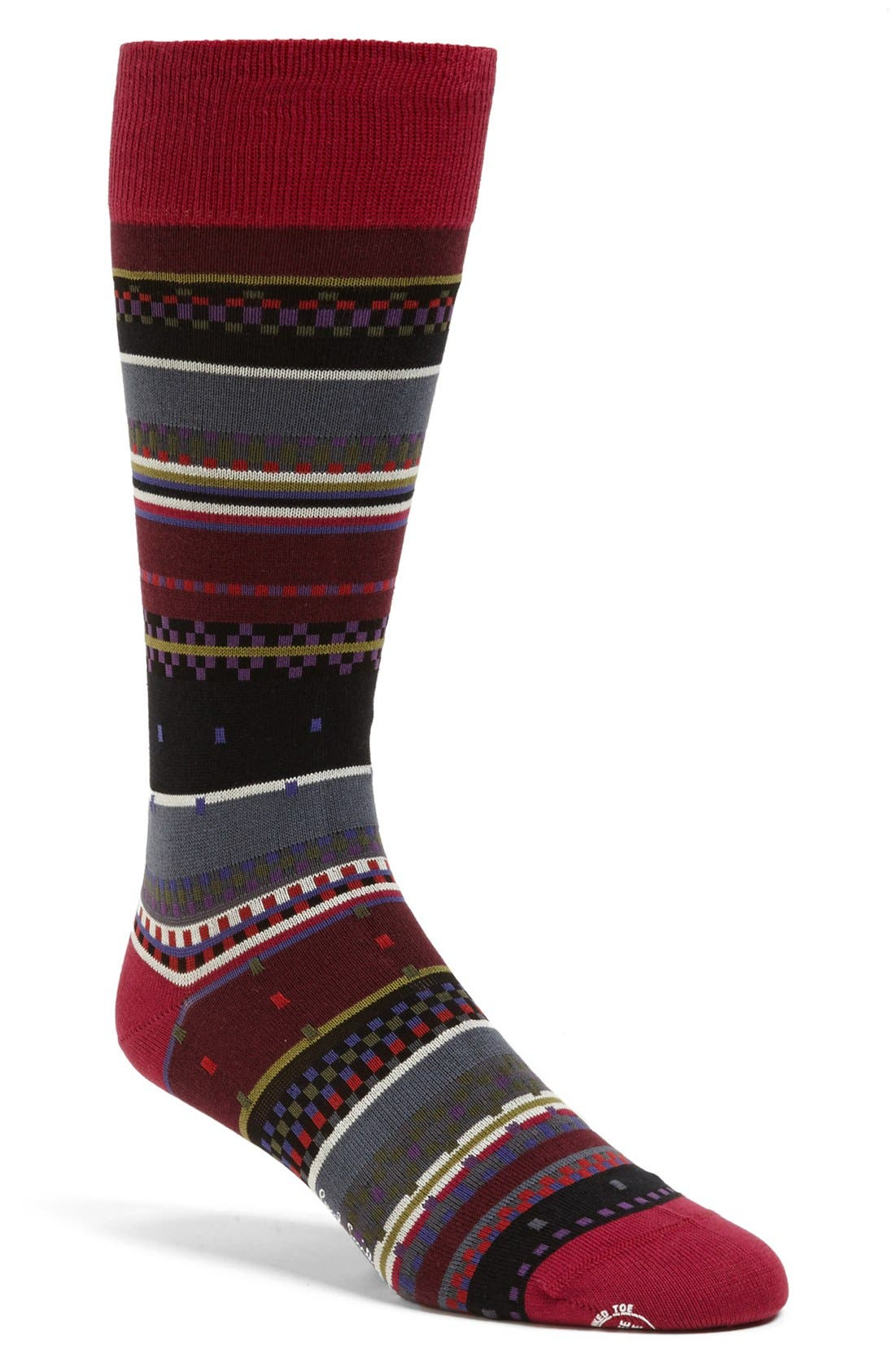 Alternate Image 1 Selected - Paul Smith Stripe Socks