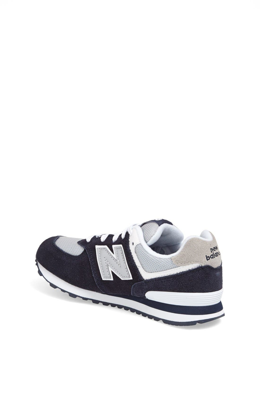 Alternate Image 2  - New Balance '574 Classic' Sneaker (Toddler & Little Kid)