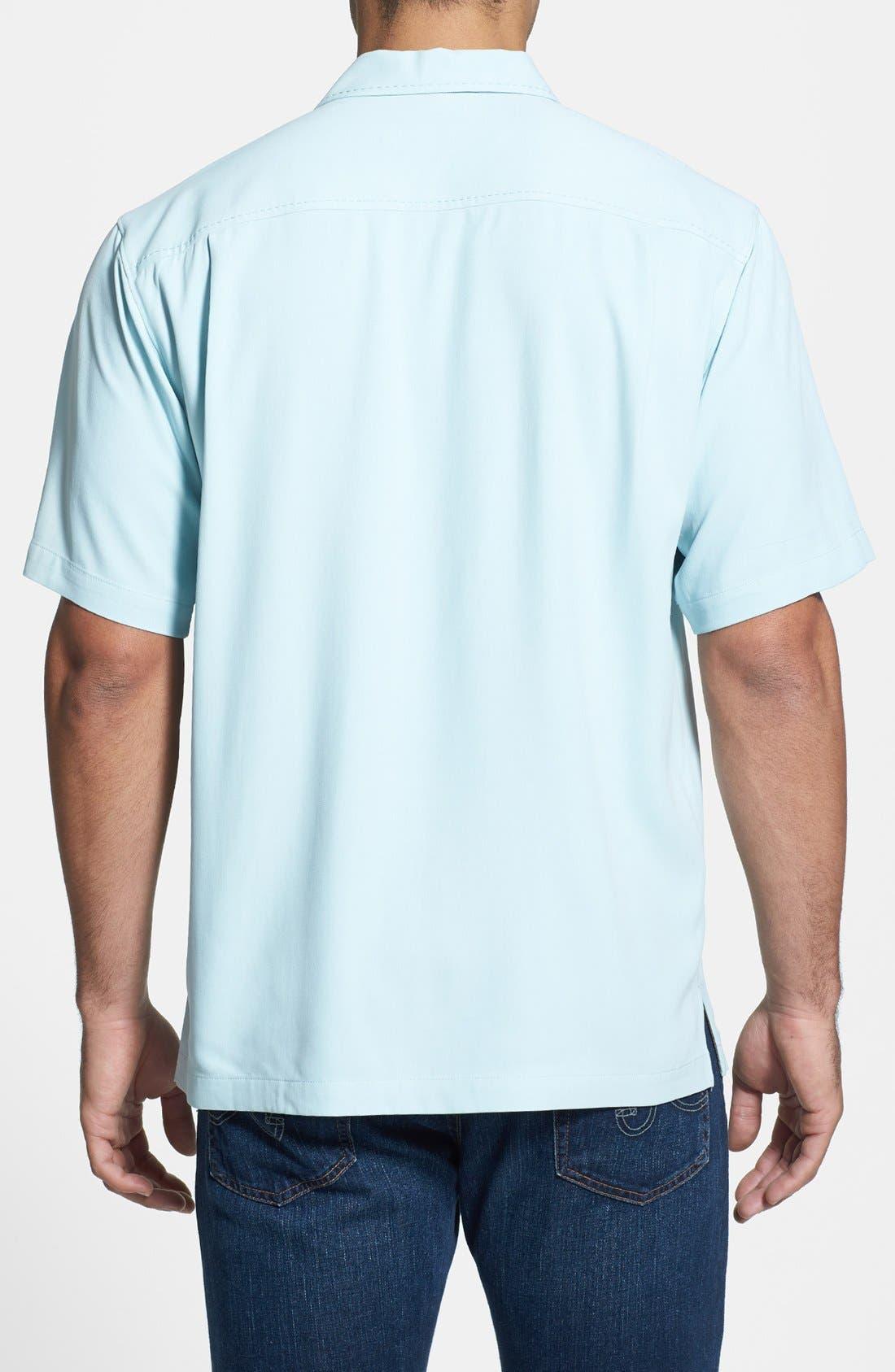 Alternate Image 2  - Tommy Bahama 'Road to Havana' Regular Fit Silk Campshirt (Big & Tall)