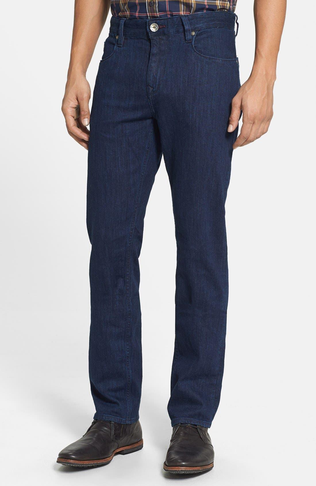 Main Image - Robert Graham 'Mad Hatter' Slim Fit Straight Leg Jeans