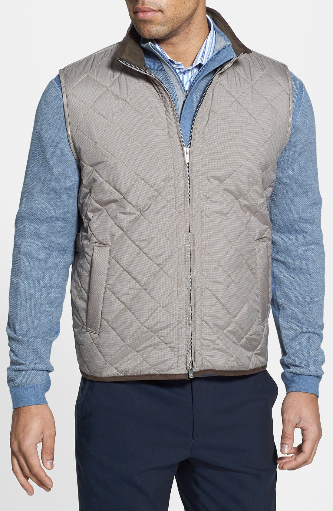 Alternate Image 1 Selected - Peter Millar 'Potomac' Quilted Vest