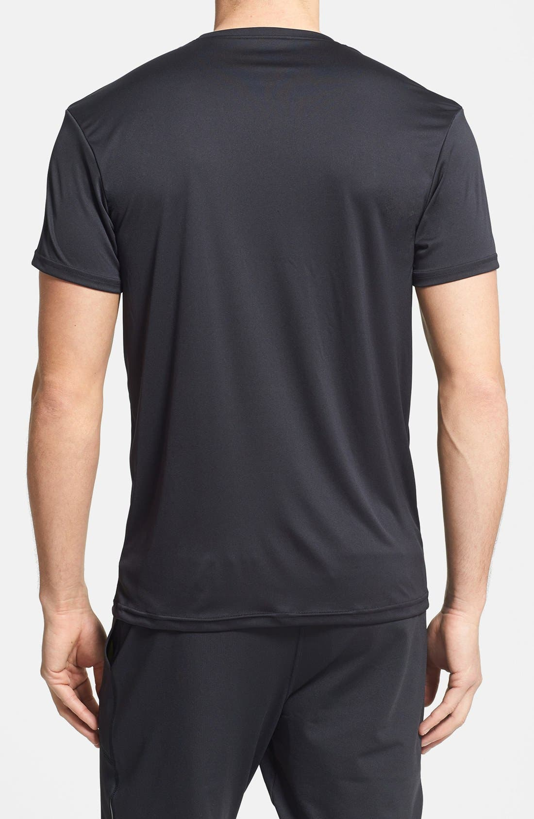 Alternate Image 2  - Under Armour Crewneck HeatGear® T-Shirt (2-Pack)