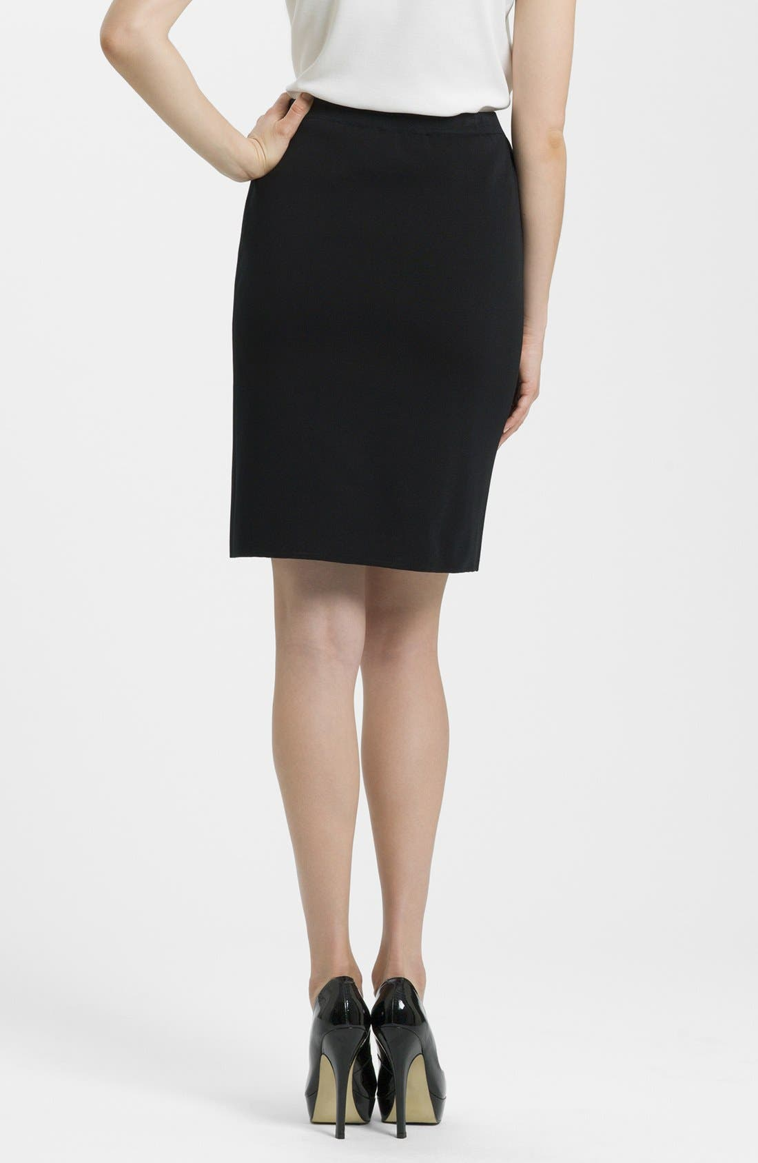 Alternate Image 2  - Ming Wang Knit Pencil Skirt