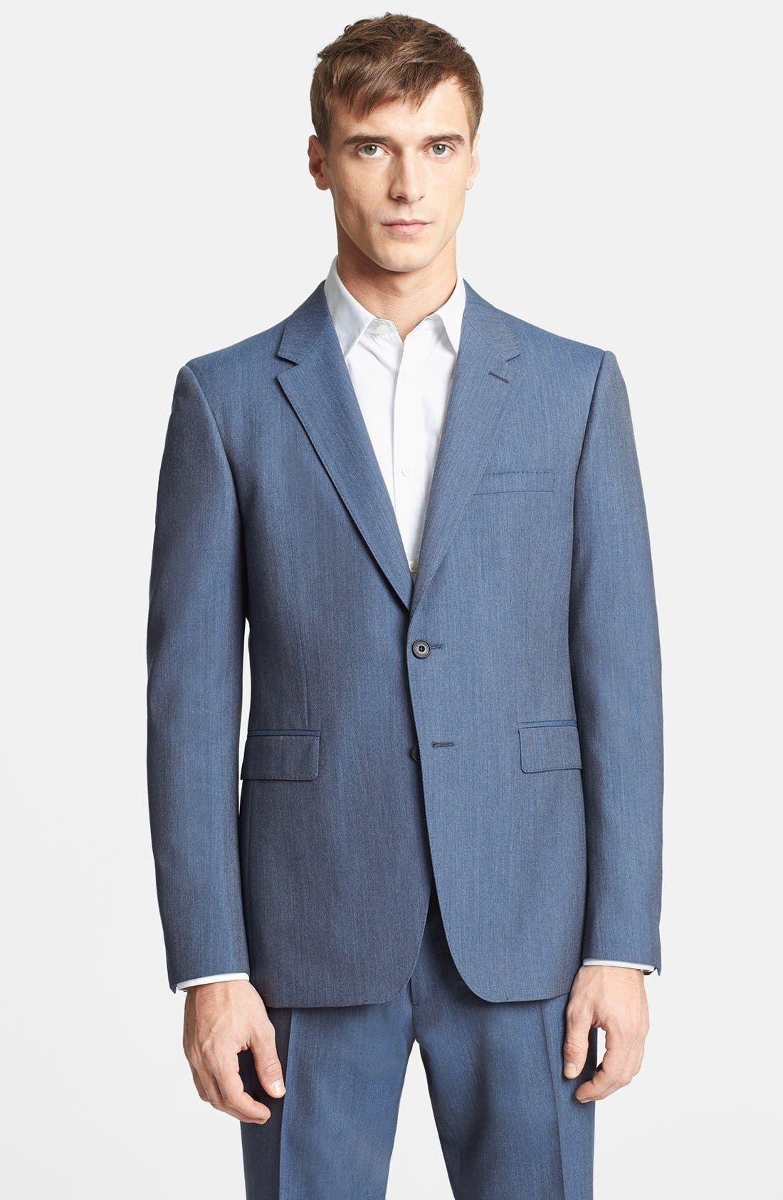 Alternate Image 3  - Burberry London 'Milbank' Wool Suit