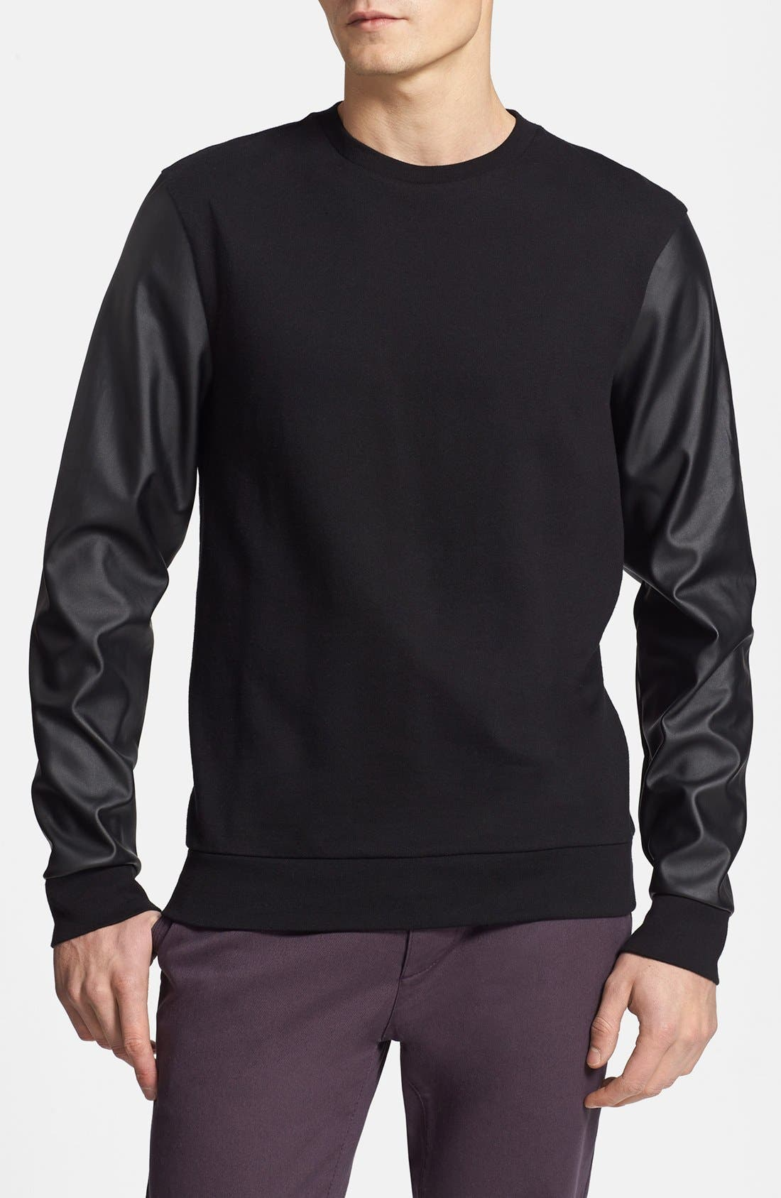 Alternate Image 1 Selected - Topman Pullover Sweater
