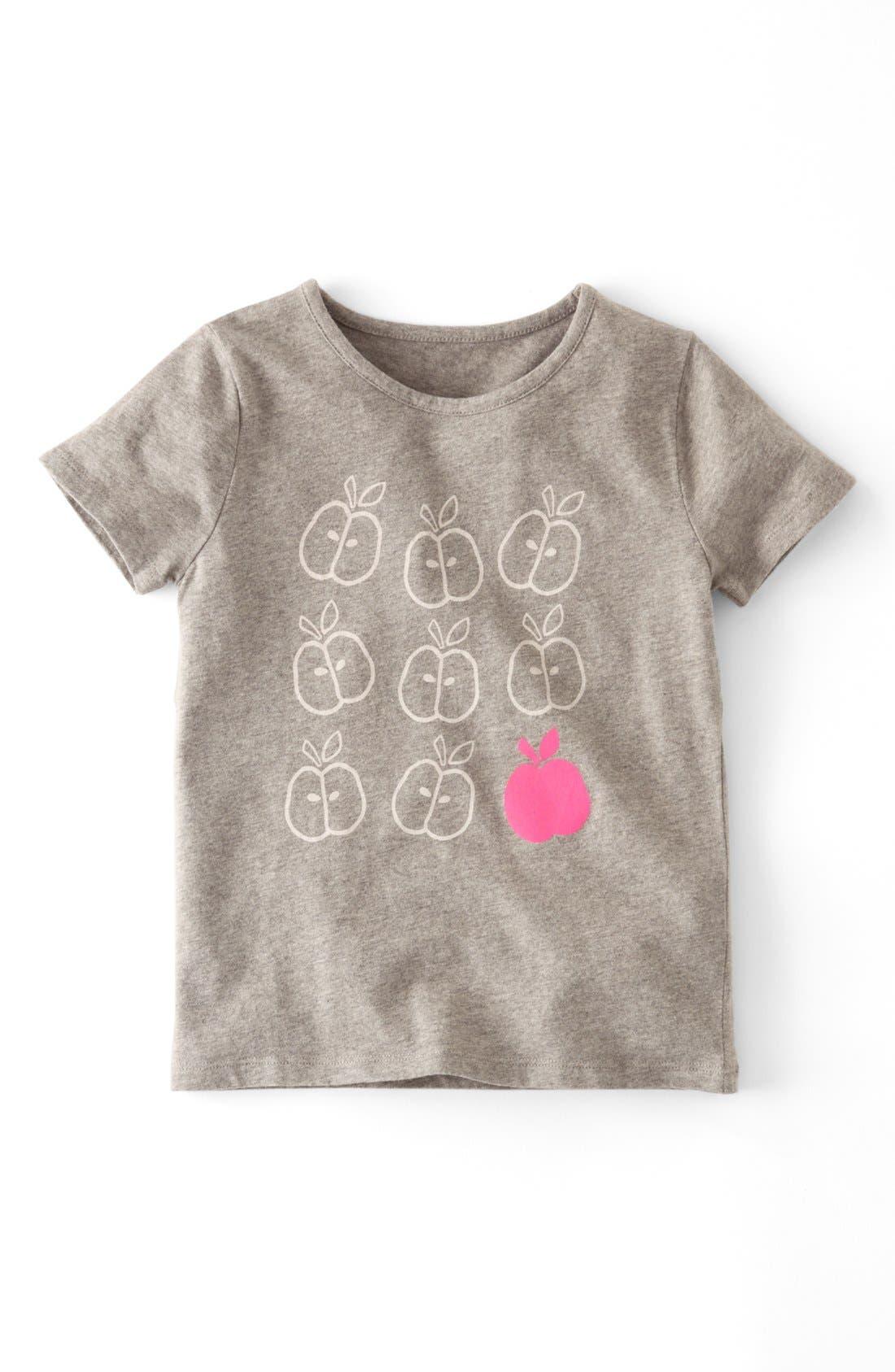 Alternate Image 1 Selected - Mini Boden Short Sleeve T-Shirt (Toddler Girls, Little Girls & Big Girls)(Online Only)