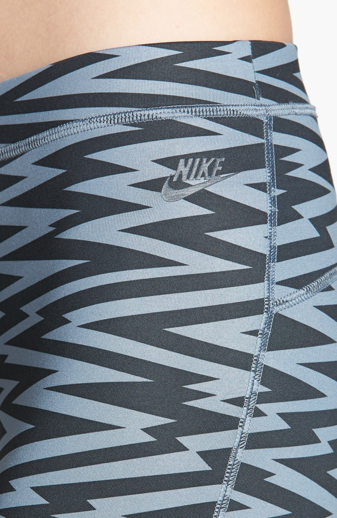 Alternate Image 4  - Nike 'Amplify' Print Leggings