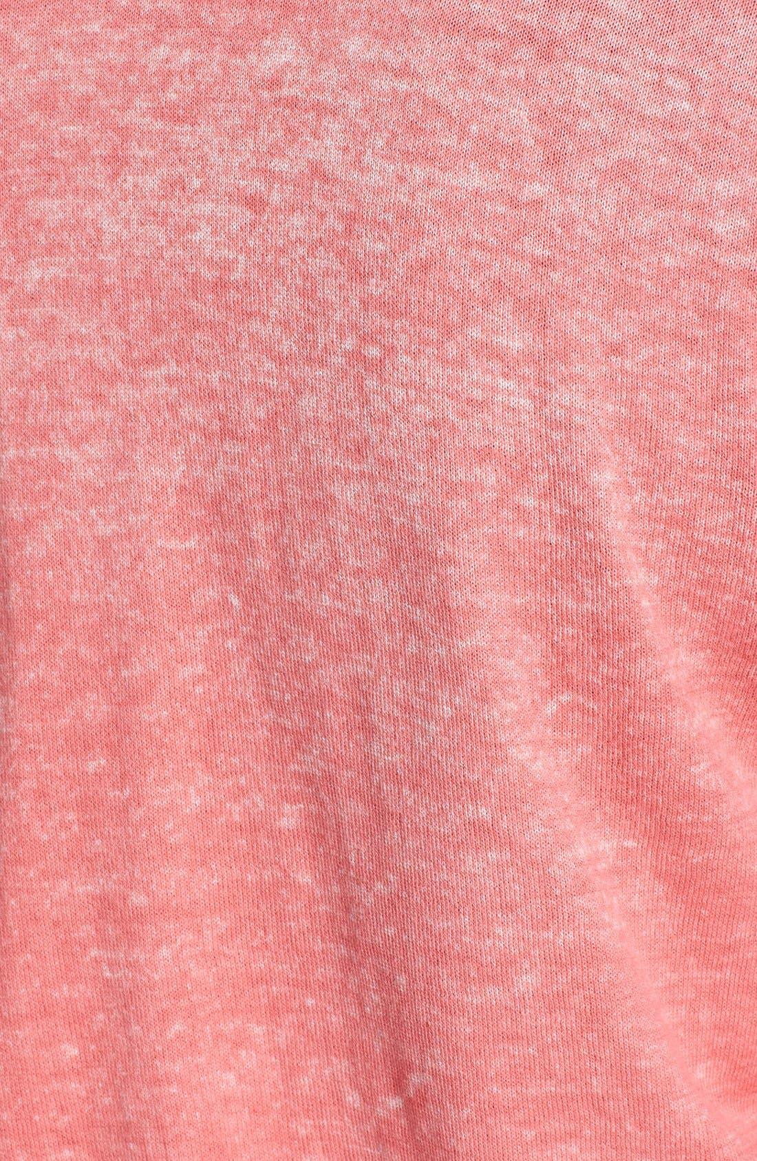 Alternate Image 3  - Rubbish® 'Bleached Look' Cotton Cardigan (Juniors)
